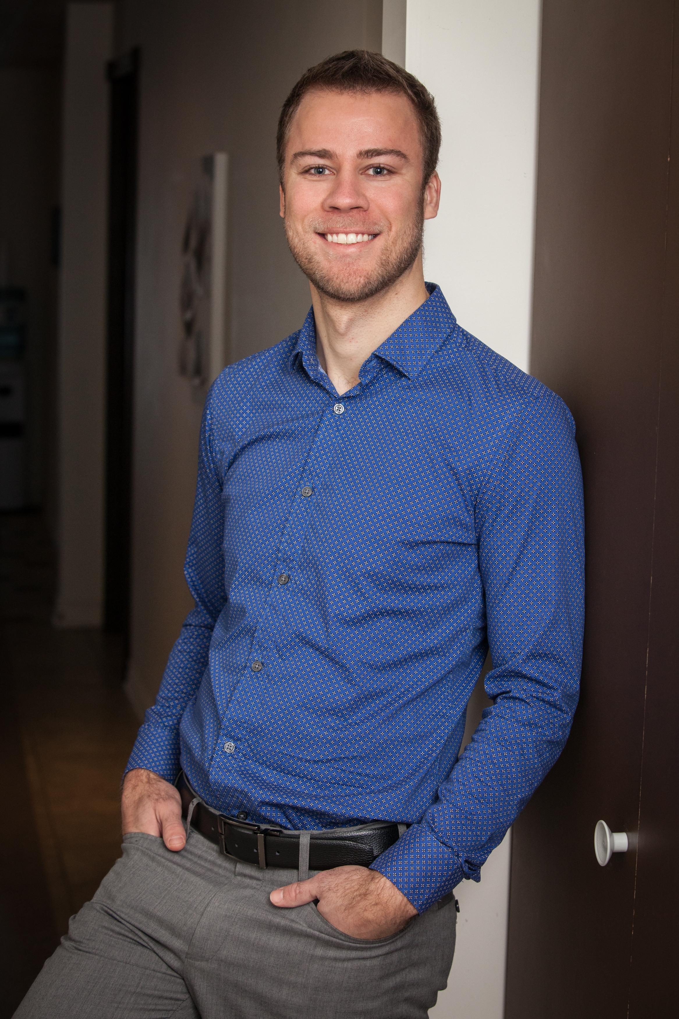 Justin Jefferson-Falardeau, chiropraticien