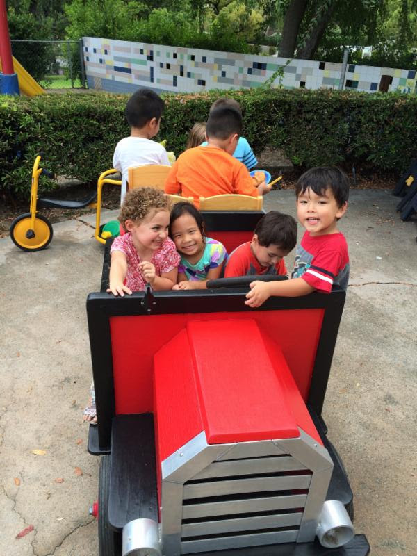 hastings ranch nursery school fire truck