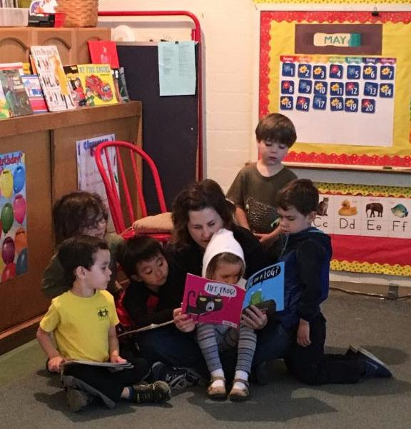 Hastings Ranch Nursery School Visiting Day