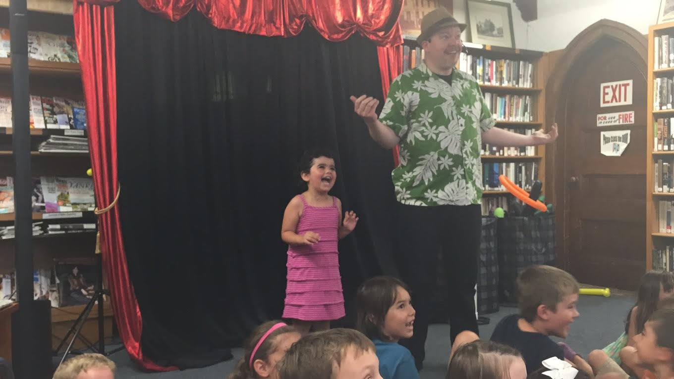 Last summer at Hopkinton Library - what fun!