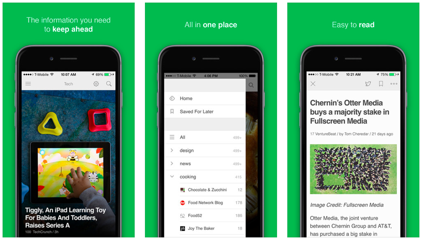 Some better shots of what Feedly looks like in action. Approved by every damn Mirsky I know
