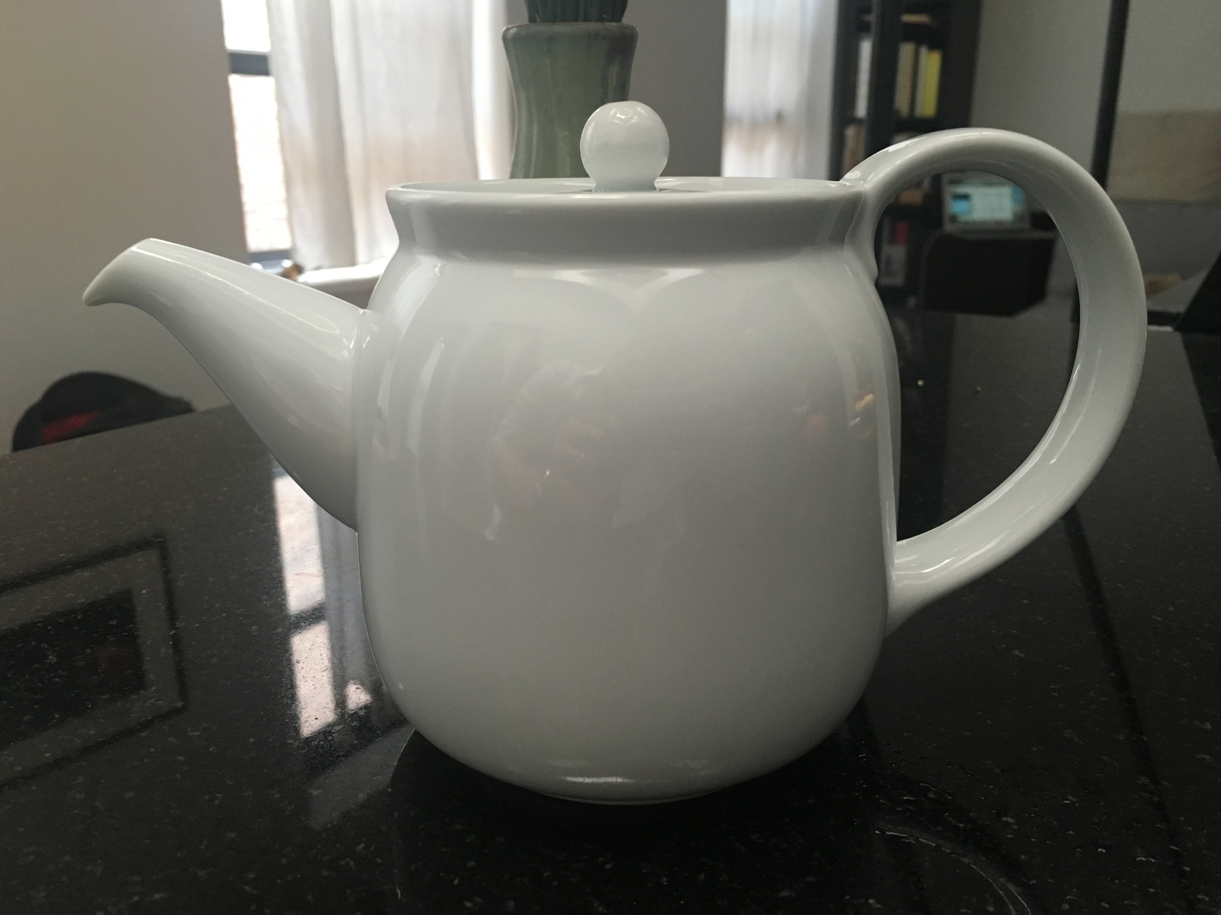 If a man must love, a man should love his teapot