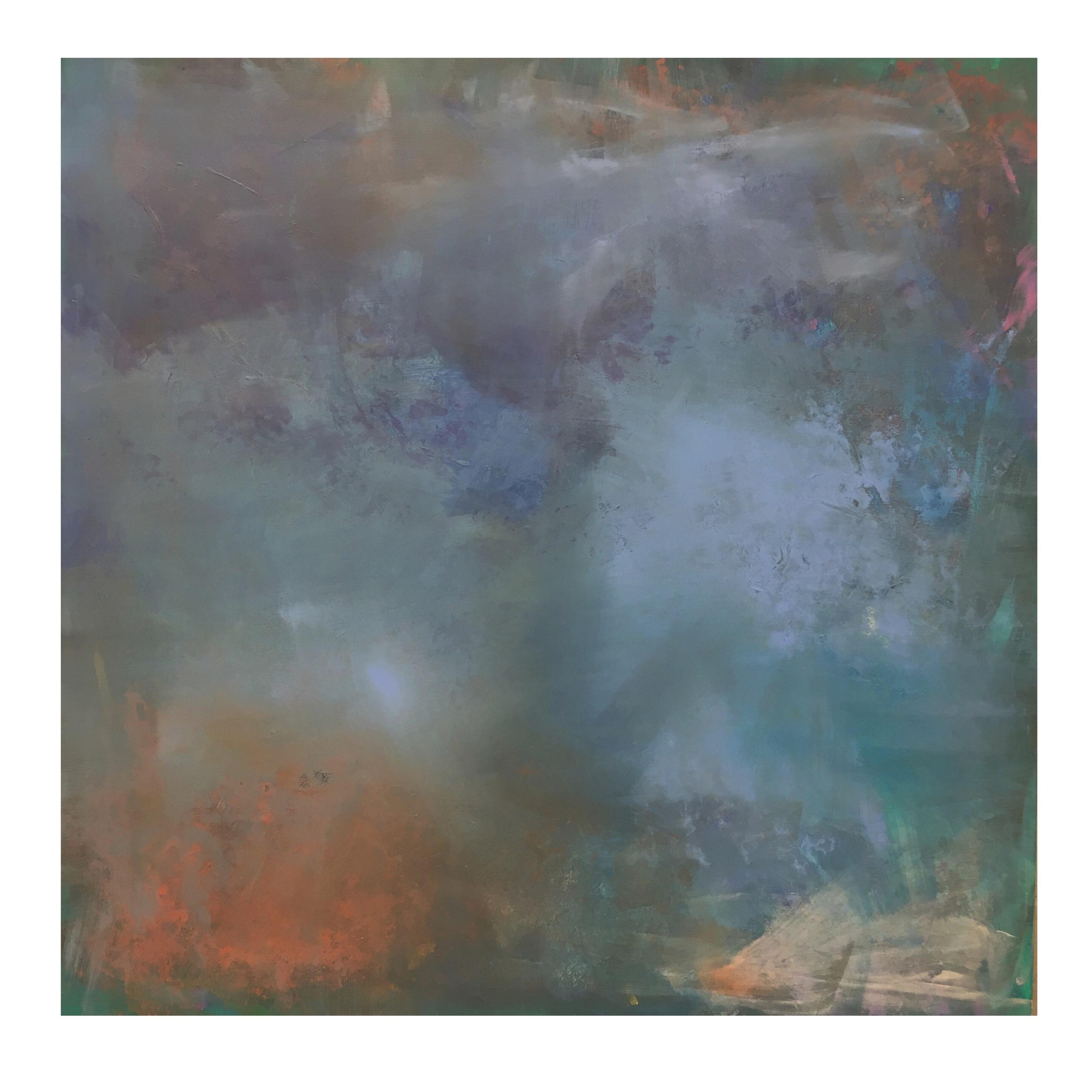 Mixed media on canvas 54x54
