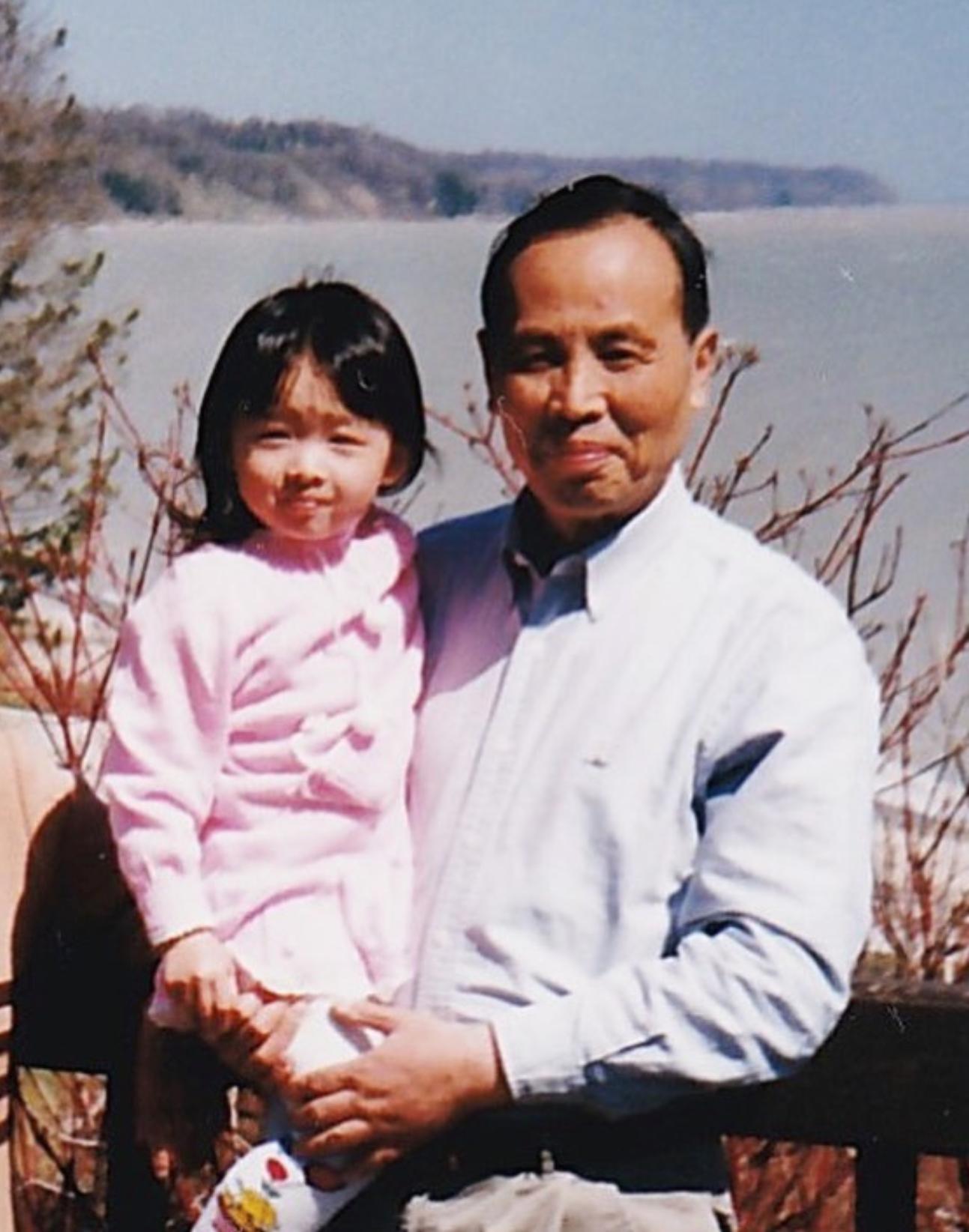 Me and my Yeye, circa 1998.