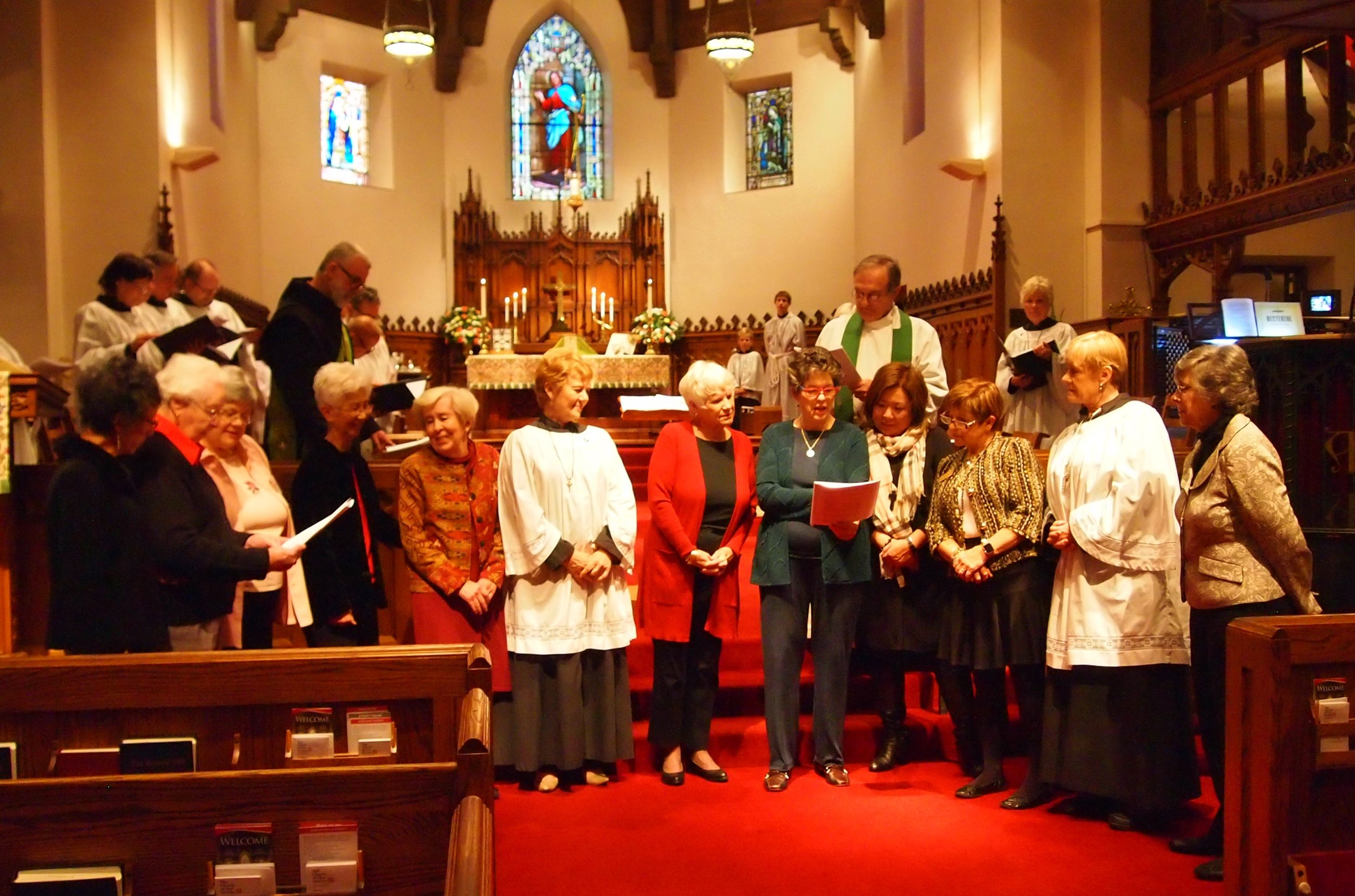 Commissioning of the Altar Guild February 5th, 2017