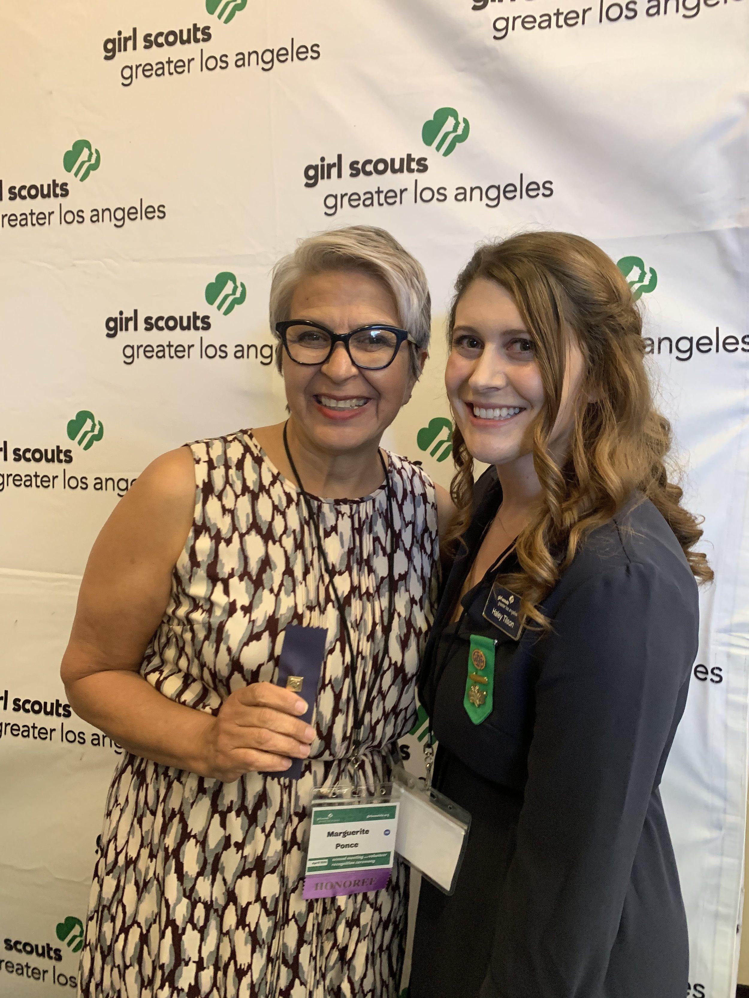Marguerite - Girl Scout award.jpg