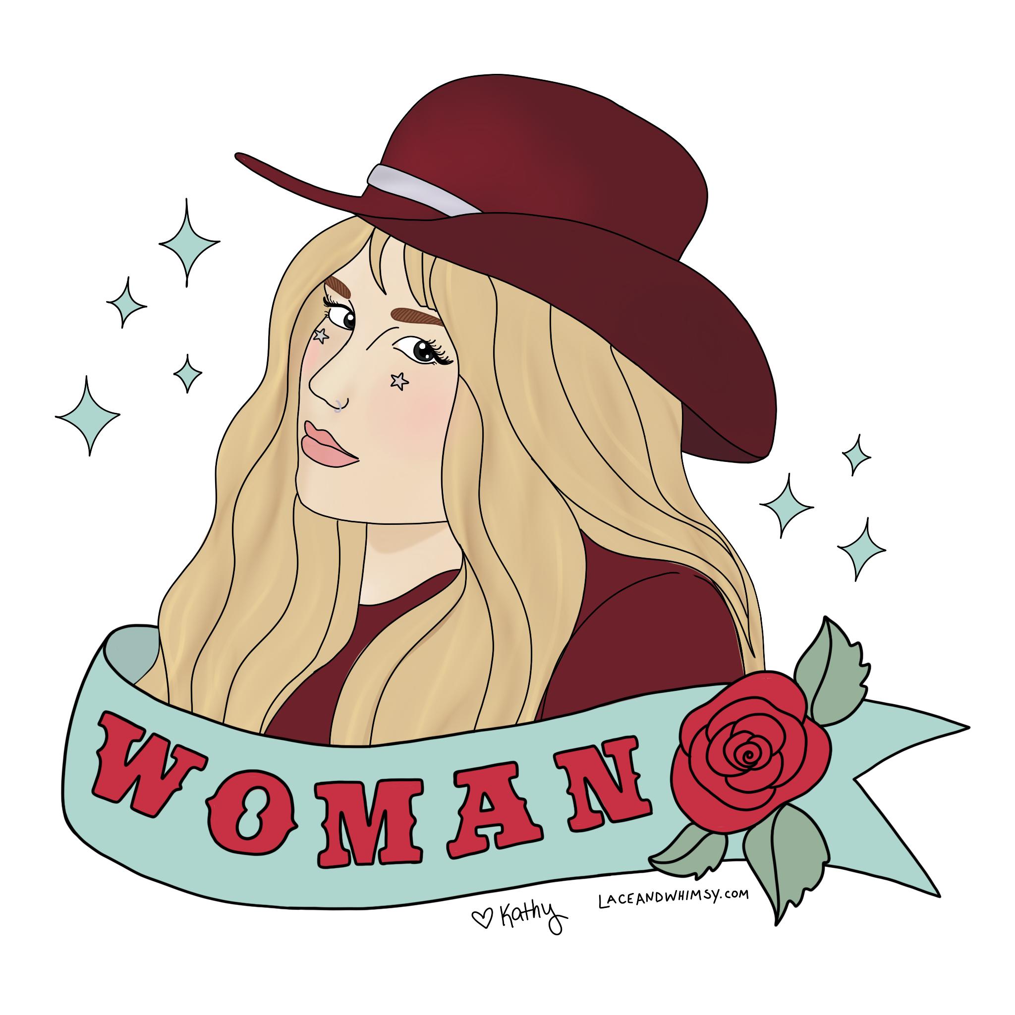 Portrait I did of Kesha <3