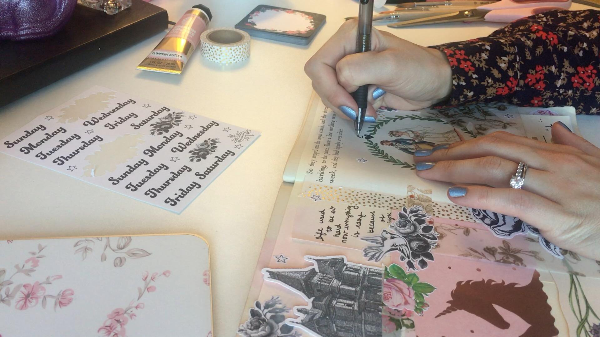 Inside My Art Journal laceandwhimsy