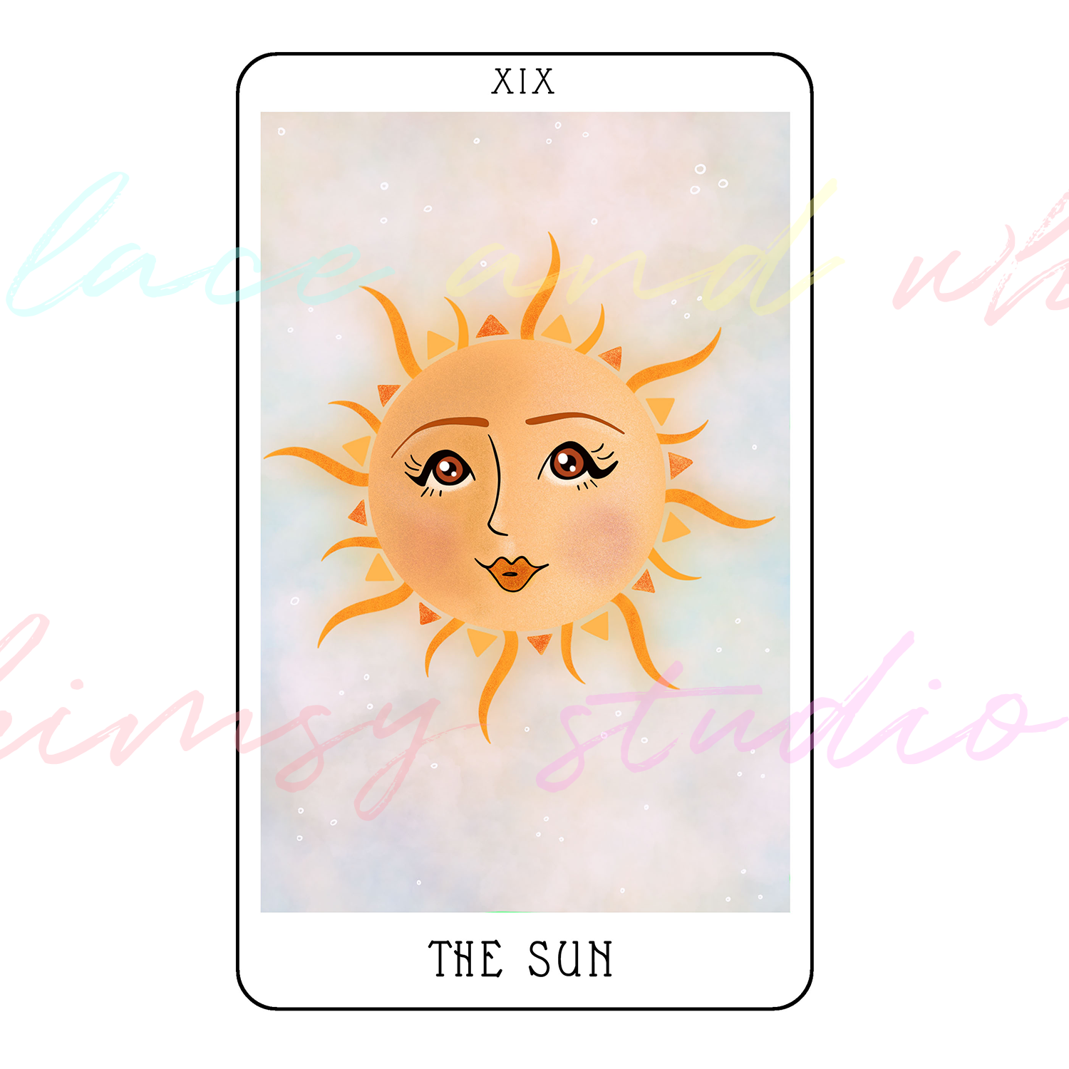 tarot-cards-illustration-series-2018-laceandwhimsy-kathy-d-clark-The-Sun.png