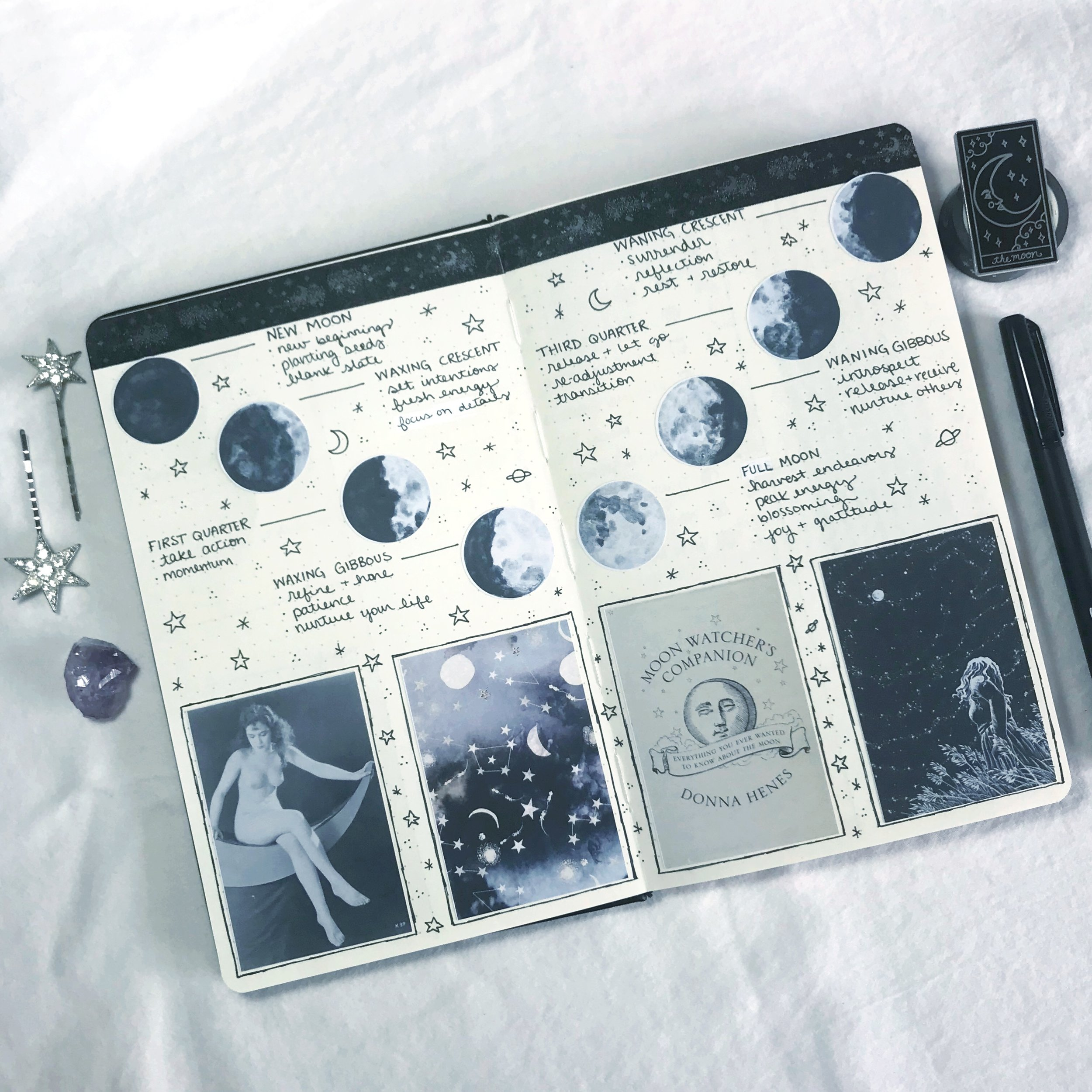 laceandwhimsy-bullet-journal-moon-phases