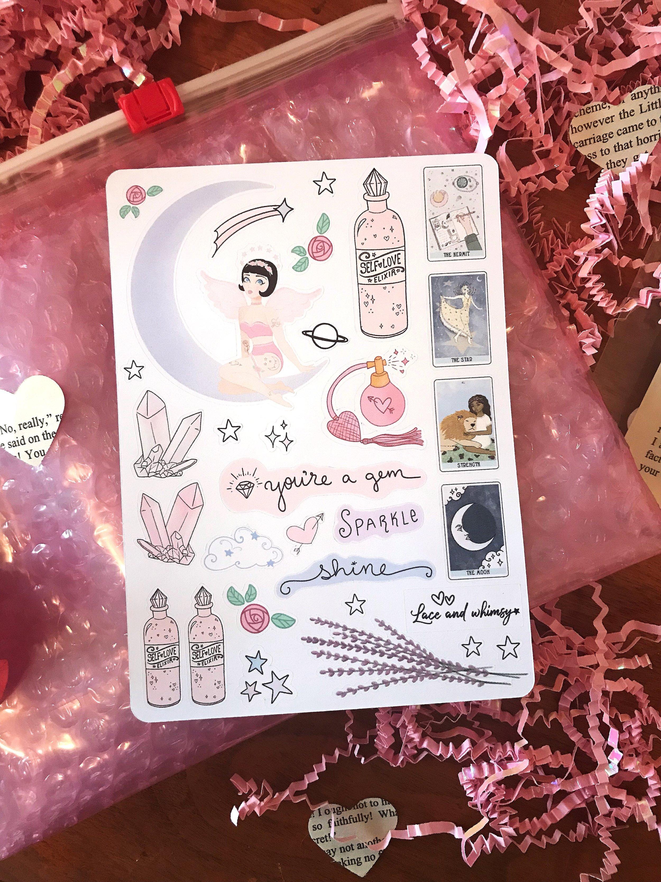 """Self Love Spell"" Sticker Sheet"