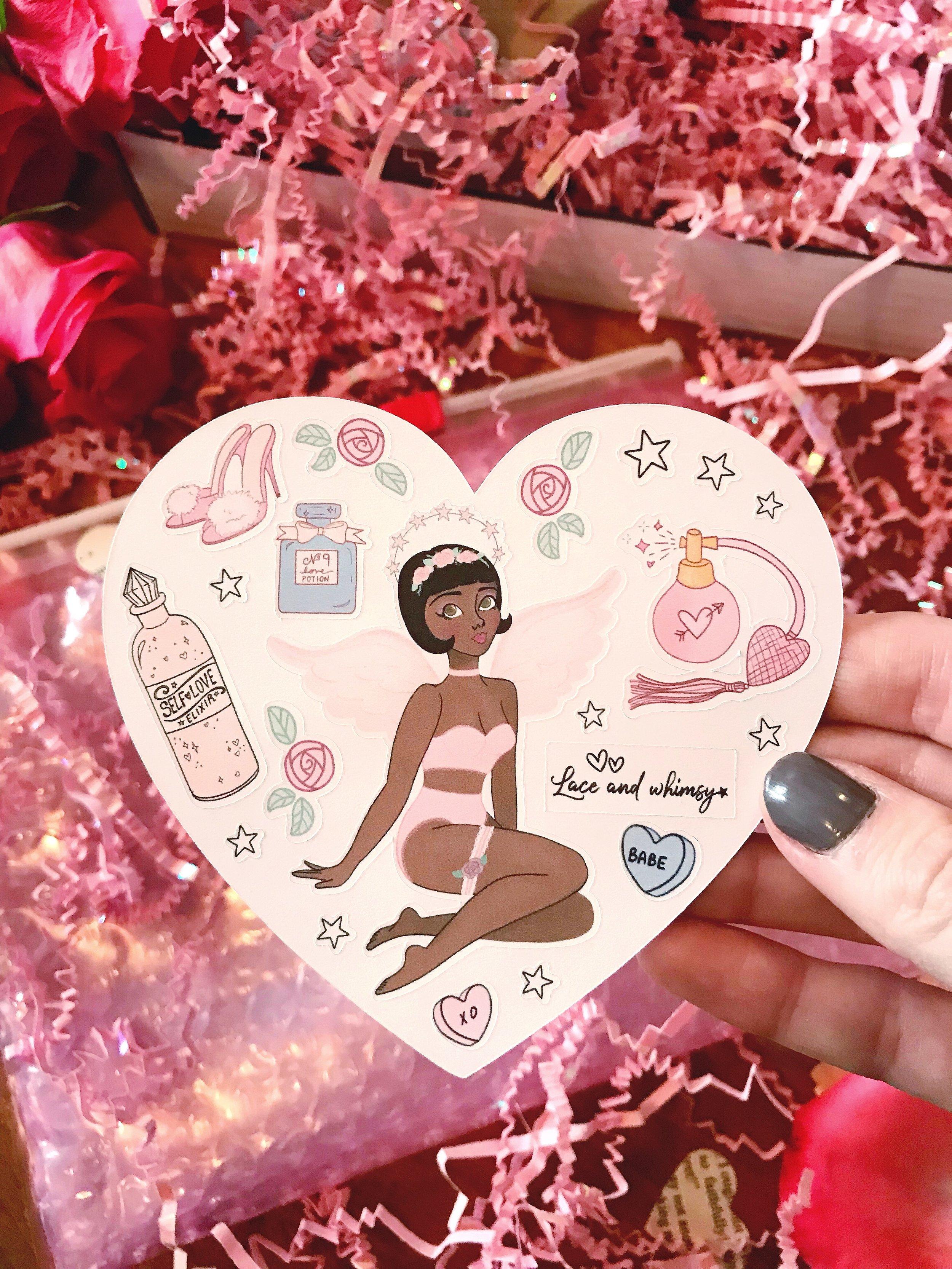 Follies of Love 02 Sticker Sheet
