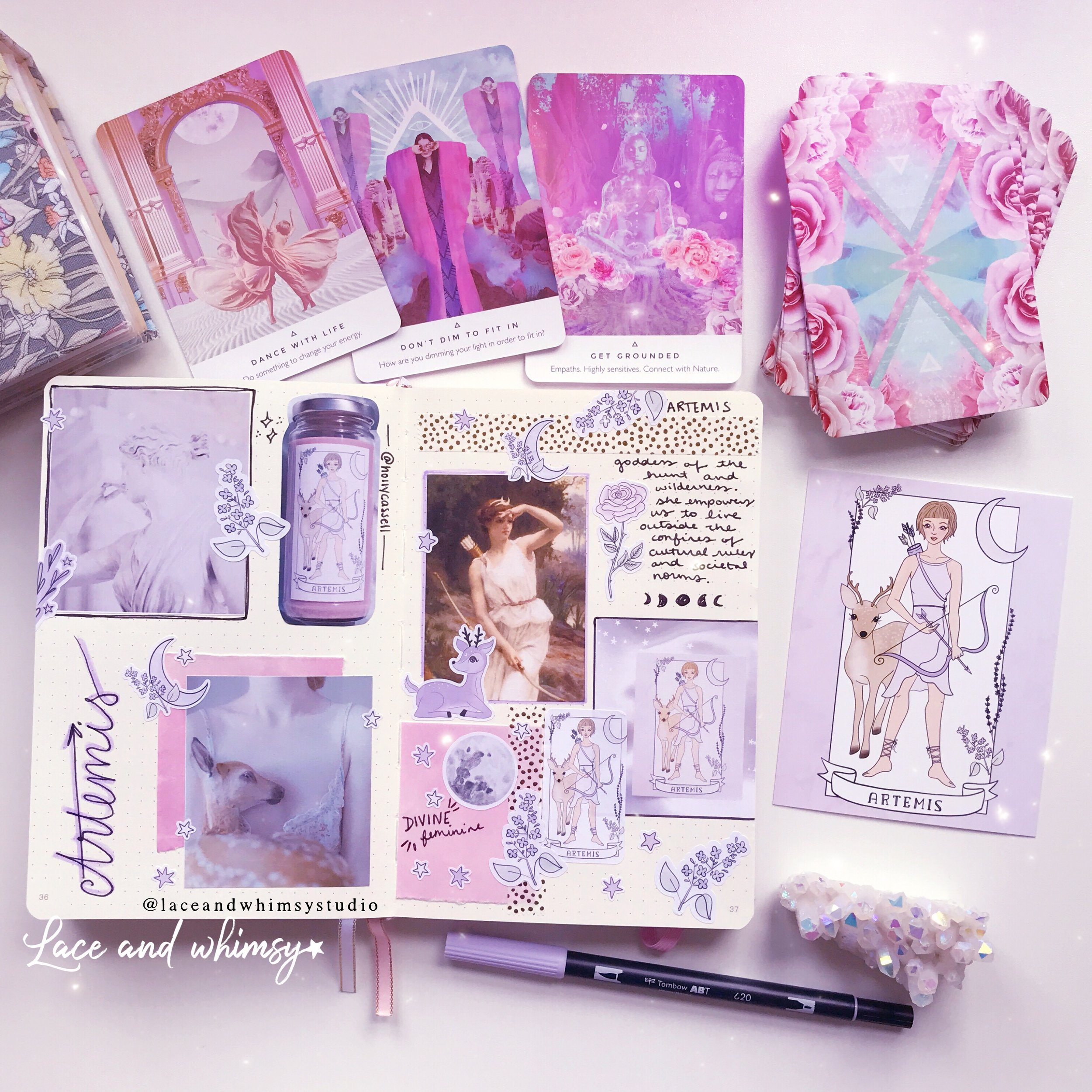 Artemis-bullet-journal-moodboard-laceandwhimsystudio.JPG