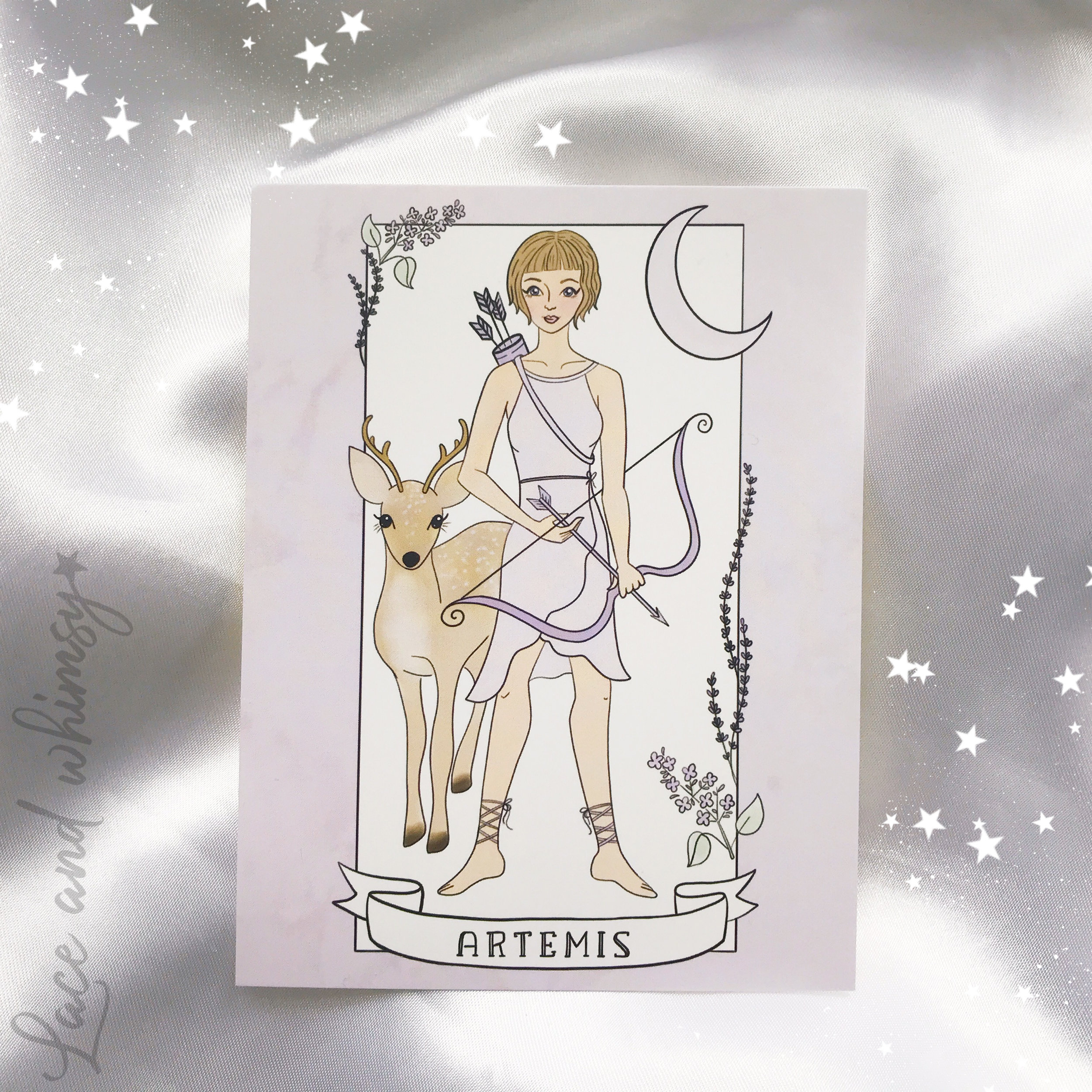 Artemis - goddess of the hunt and wilderness.