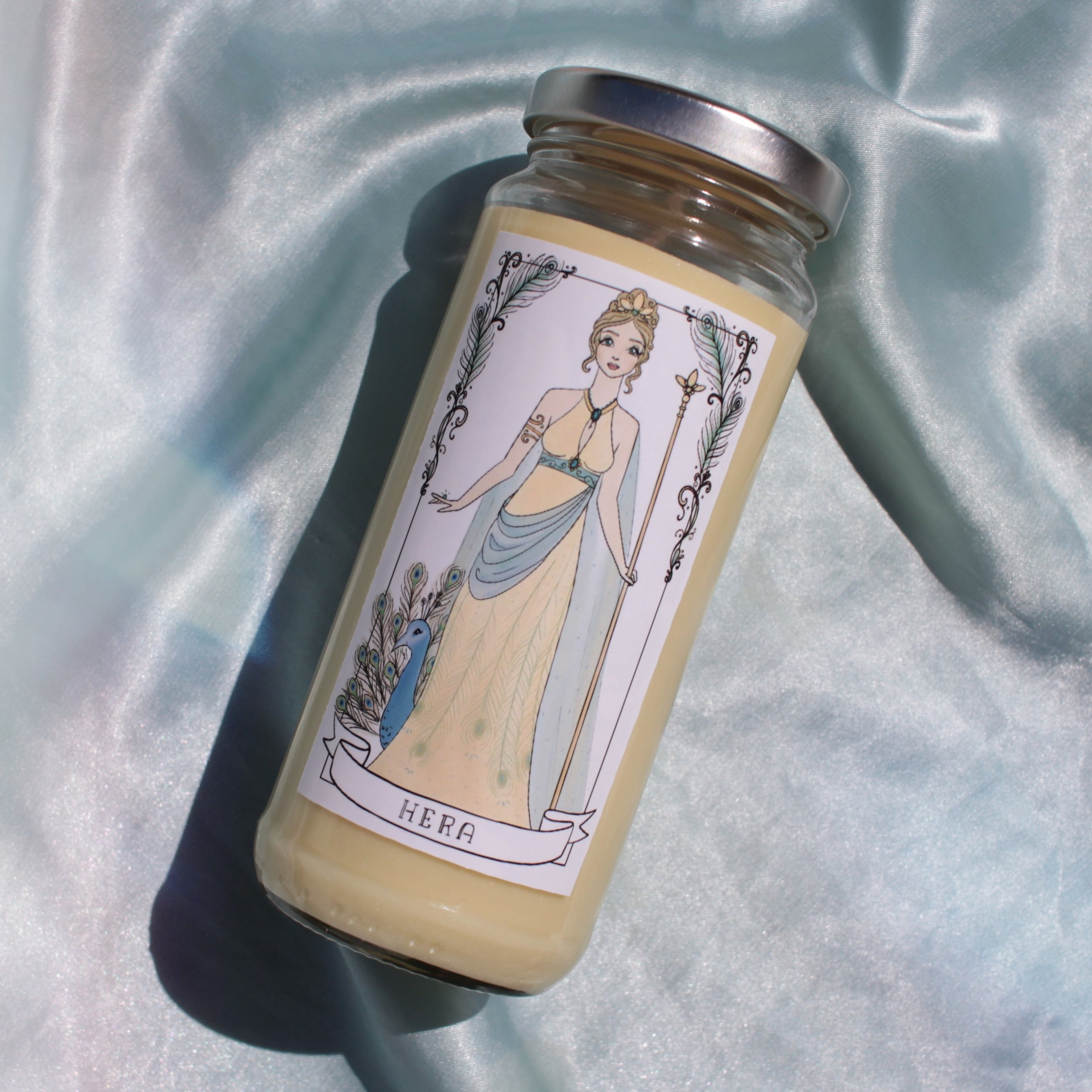 Candle & Photo by Holly Cassell; Illustration by Kathy d. Clark