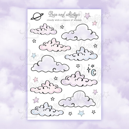 Moon Goddess Sticker Die Cut 02