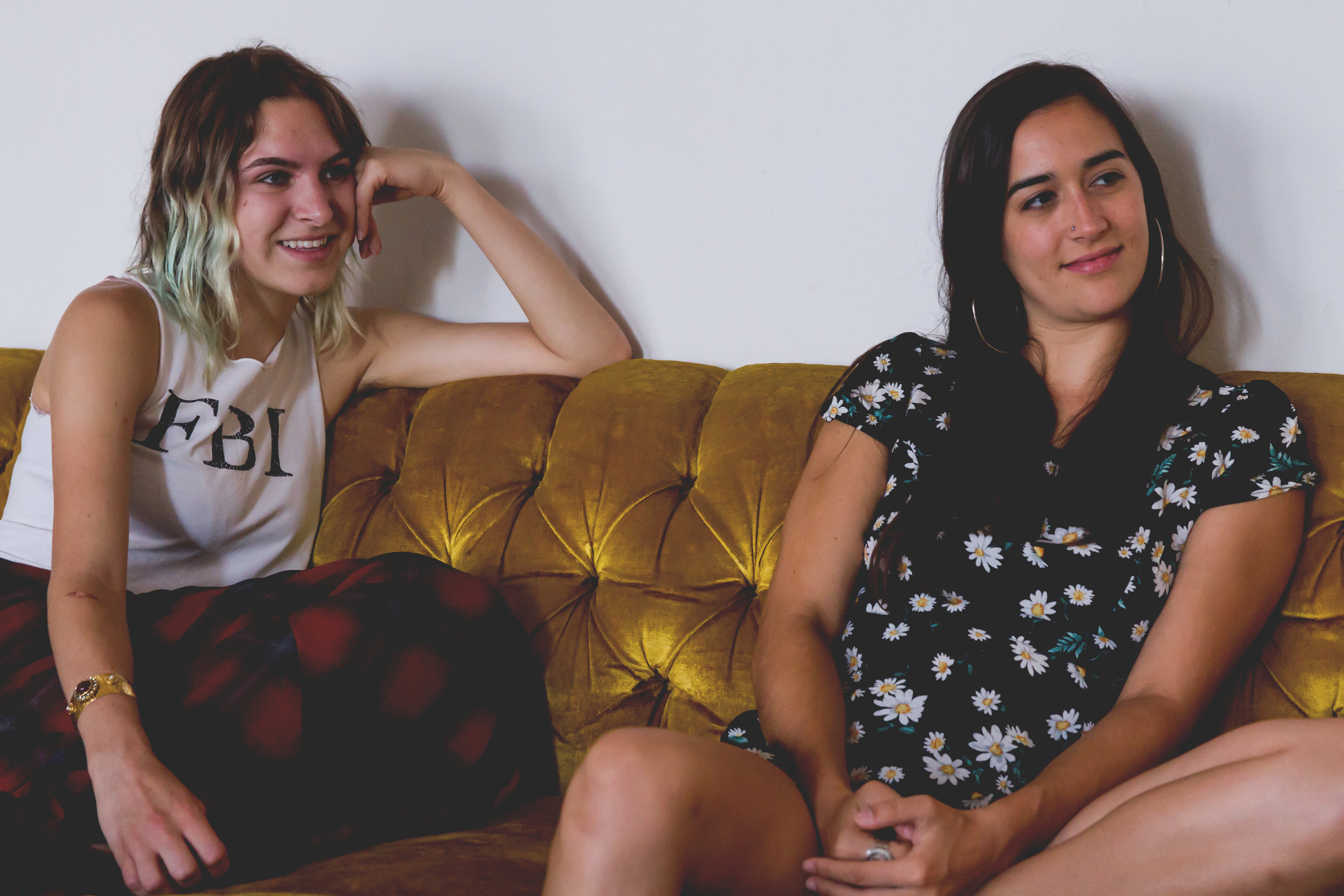 INTERVIEW: Emily Nichols and Catherine Poulos are true professionals!