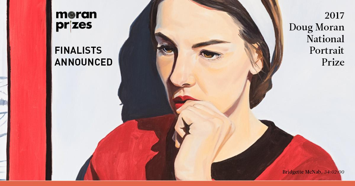 Finalist - 2017 Doug Moran National Portrait Prize