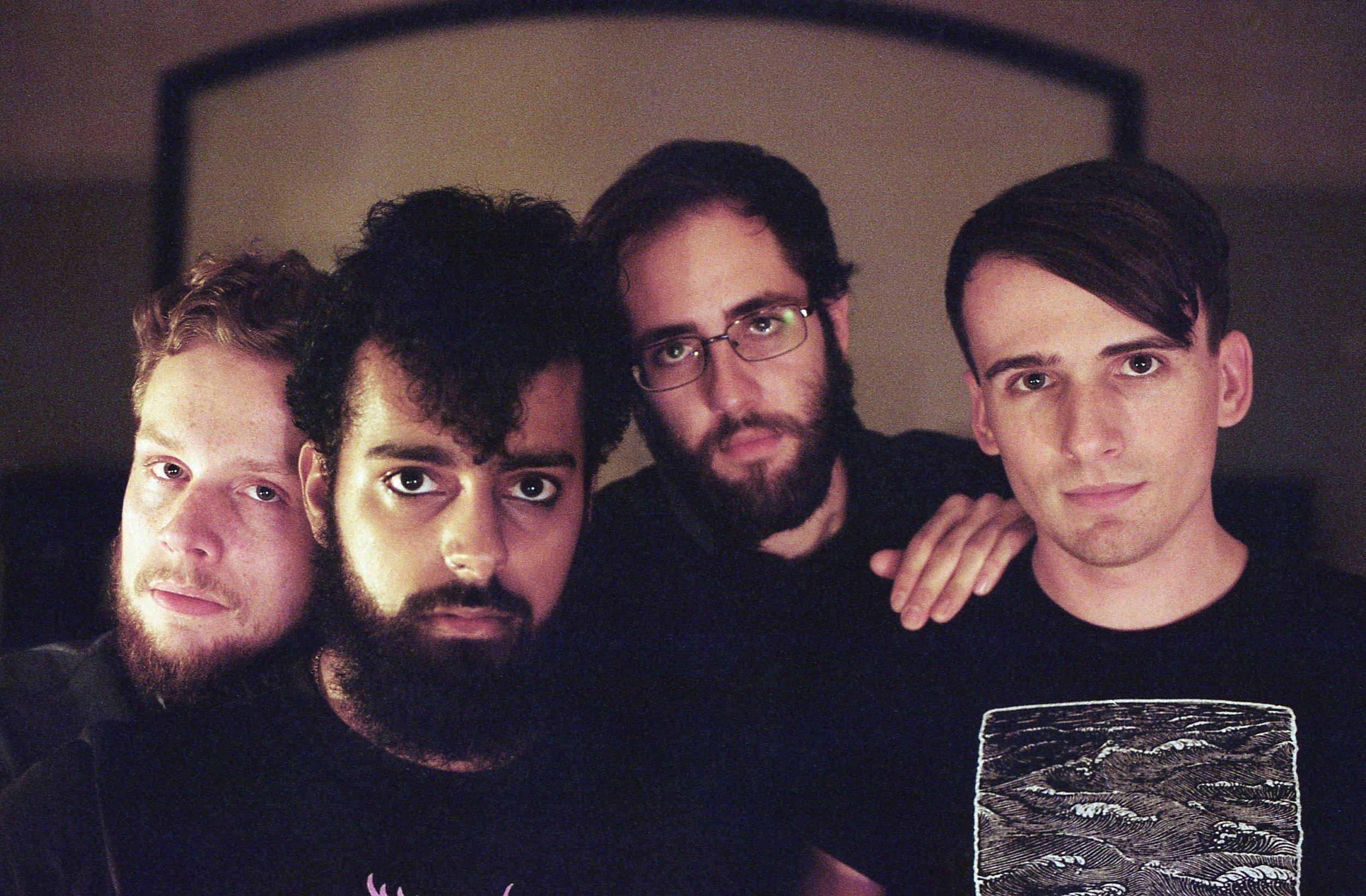 Straya (left to right): Mark, Sanjeev, Toby, & Cody // photo by Isabel Fajardo