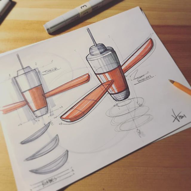 ✖️quick idea 💡 large propeller like fan✖️ #sketching #idsketching #sketch #doodling #designsketch #industrialdesign #productdesign #design #id #sketchbook #ideation #weeklydesignchallenge #analogsketch #productsketch