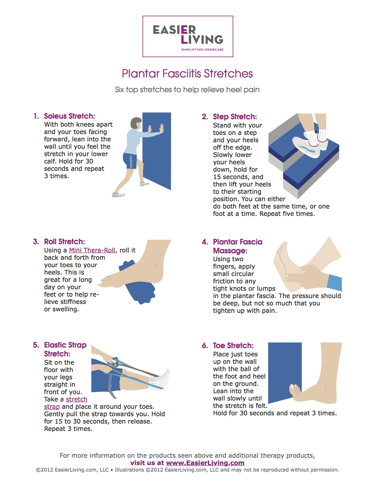Stretches to help with plantar fasciitis