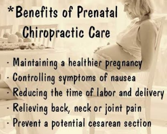 Not to mention that chiropractic care involves NO drugs! Nothing that can harm your baby will enter your system.