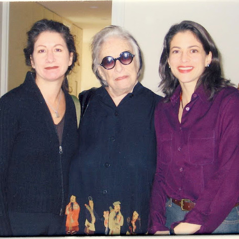 Nancy, Phyllis Kind, and Rachel Kind.