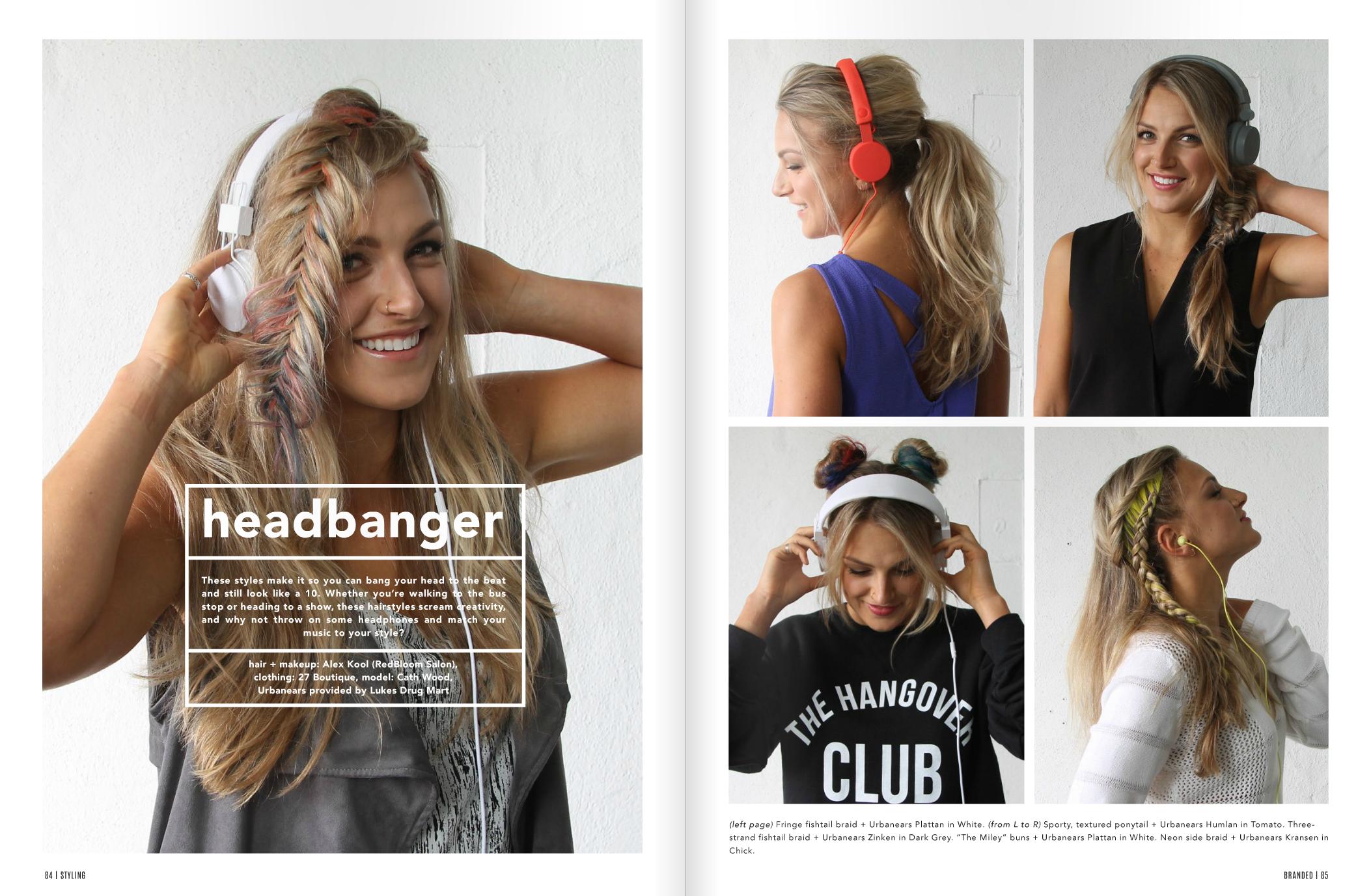 Headbanger feature in Branded Magazine