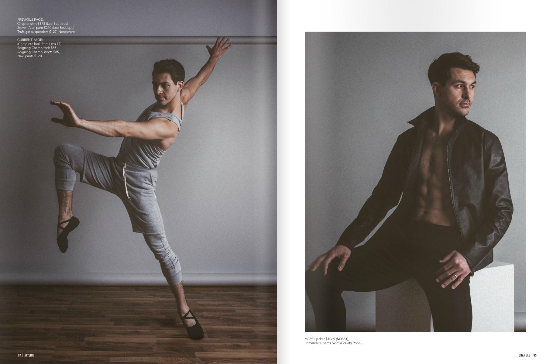 Onward + Upward feature in Branded Magazine