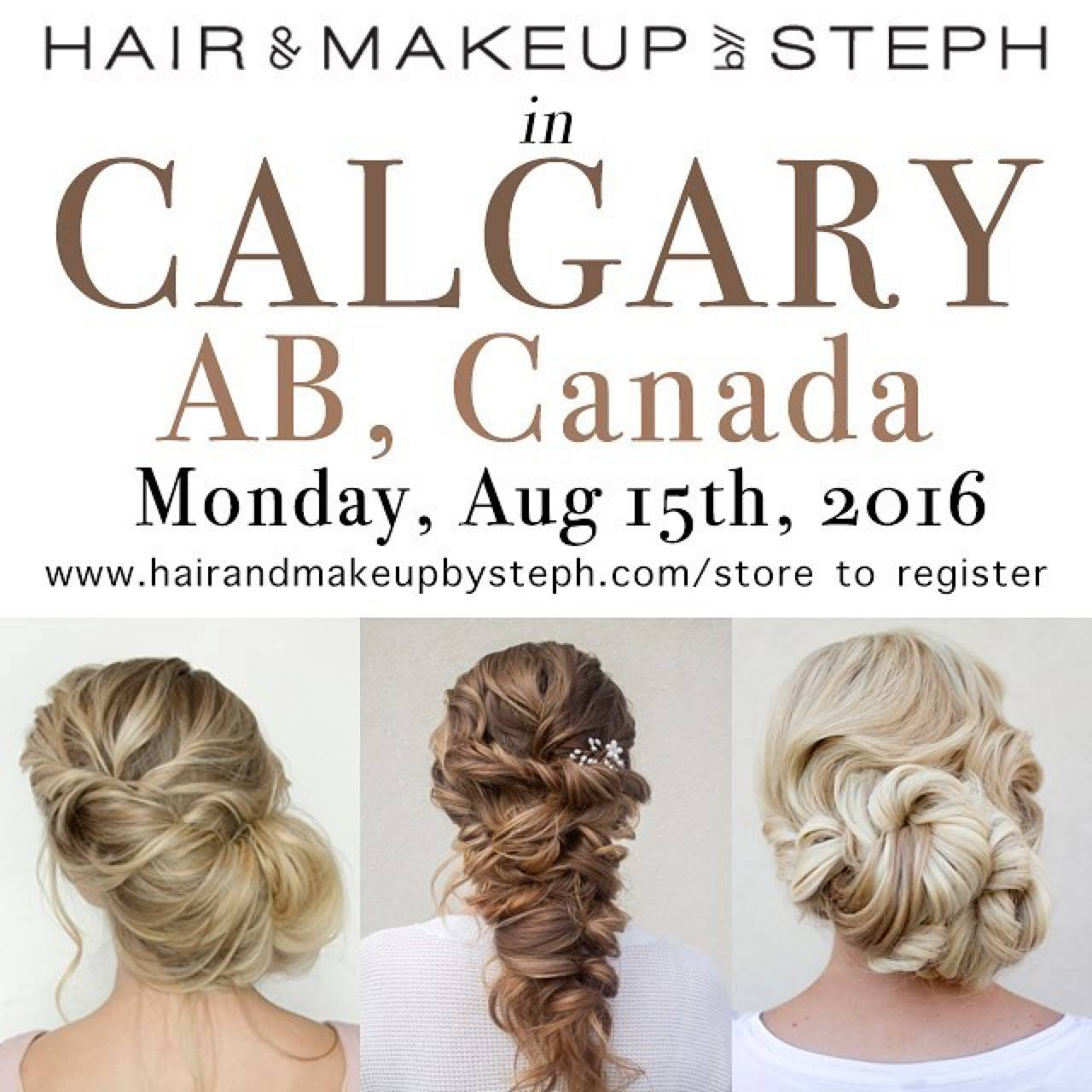 hair and makeup by steph in calgary