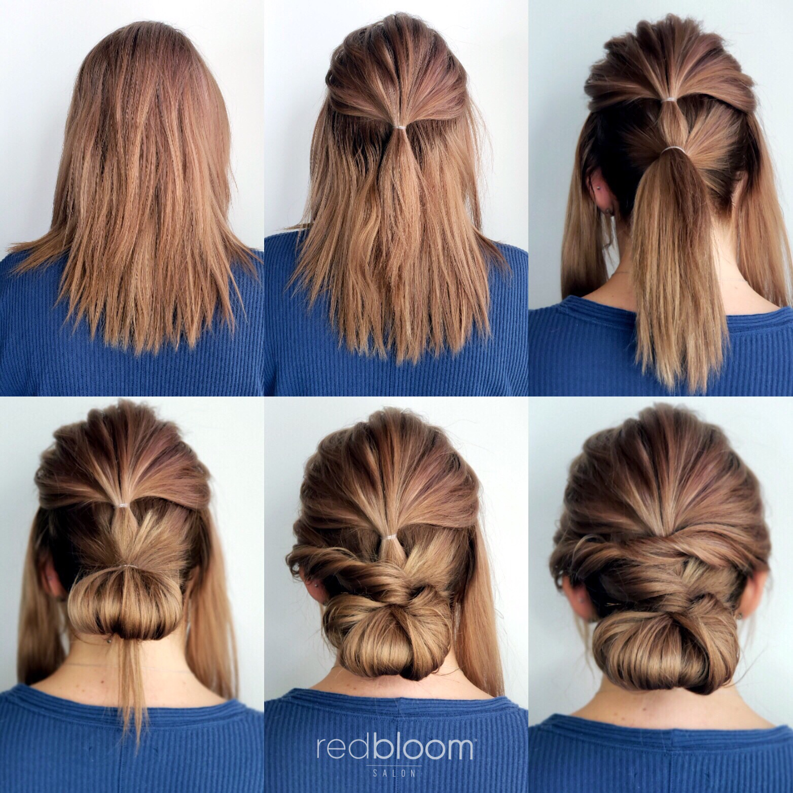 updo step-by-step
