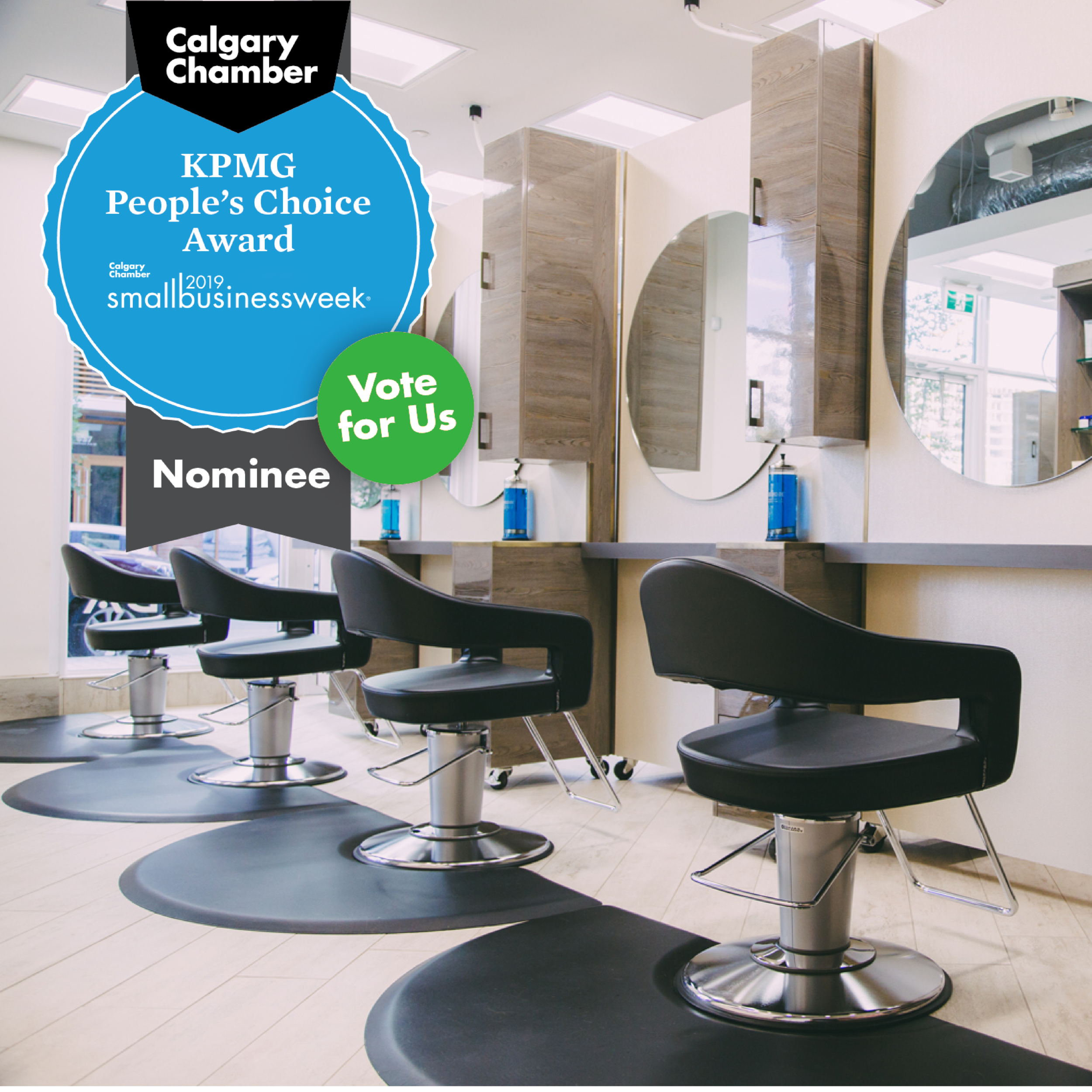 KPMG People's Choice Award RedBloom Salon