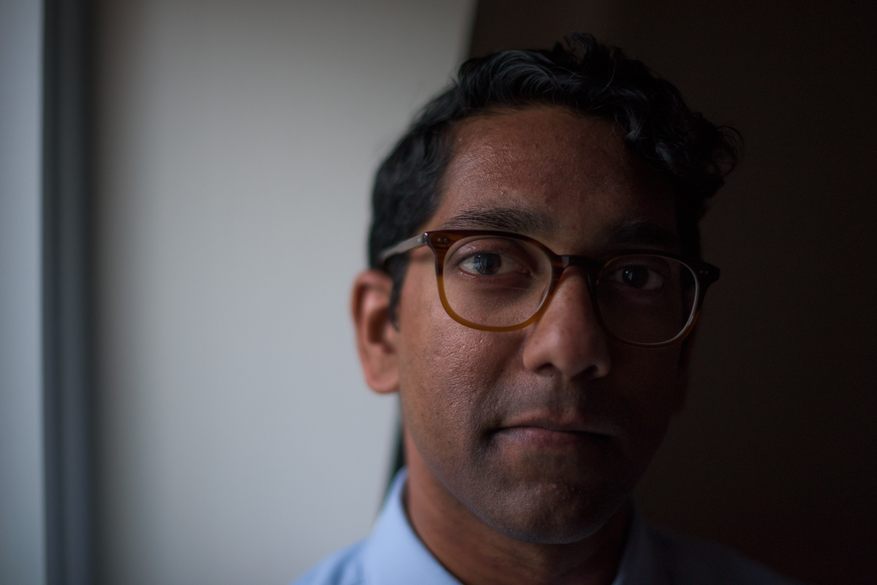 Joby Thoyalil, policy analyst at Maine Equal Justice Partners.