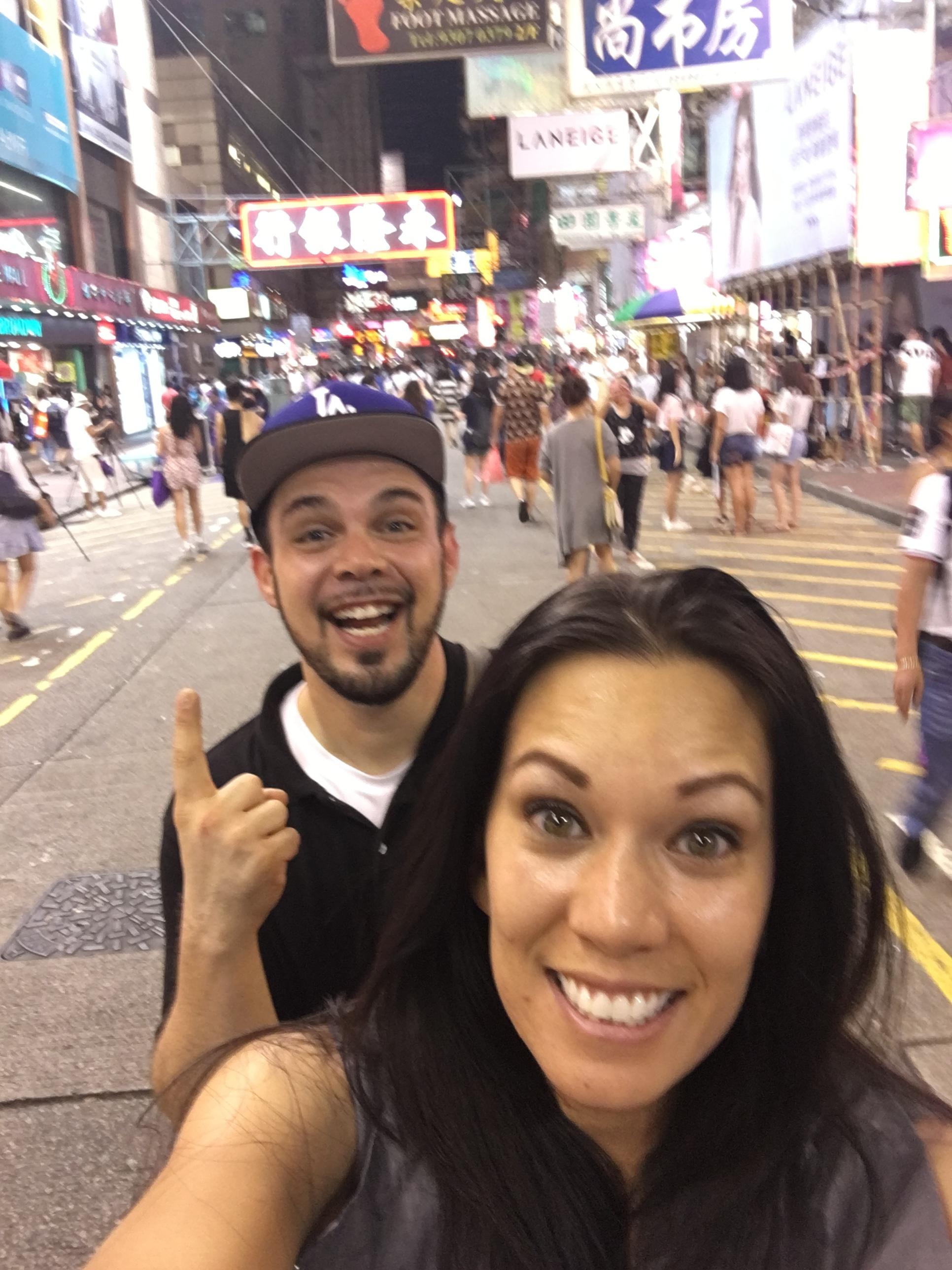 Asia Tour: Hong Kong Night Market with Husband