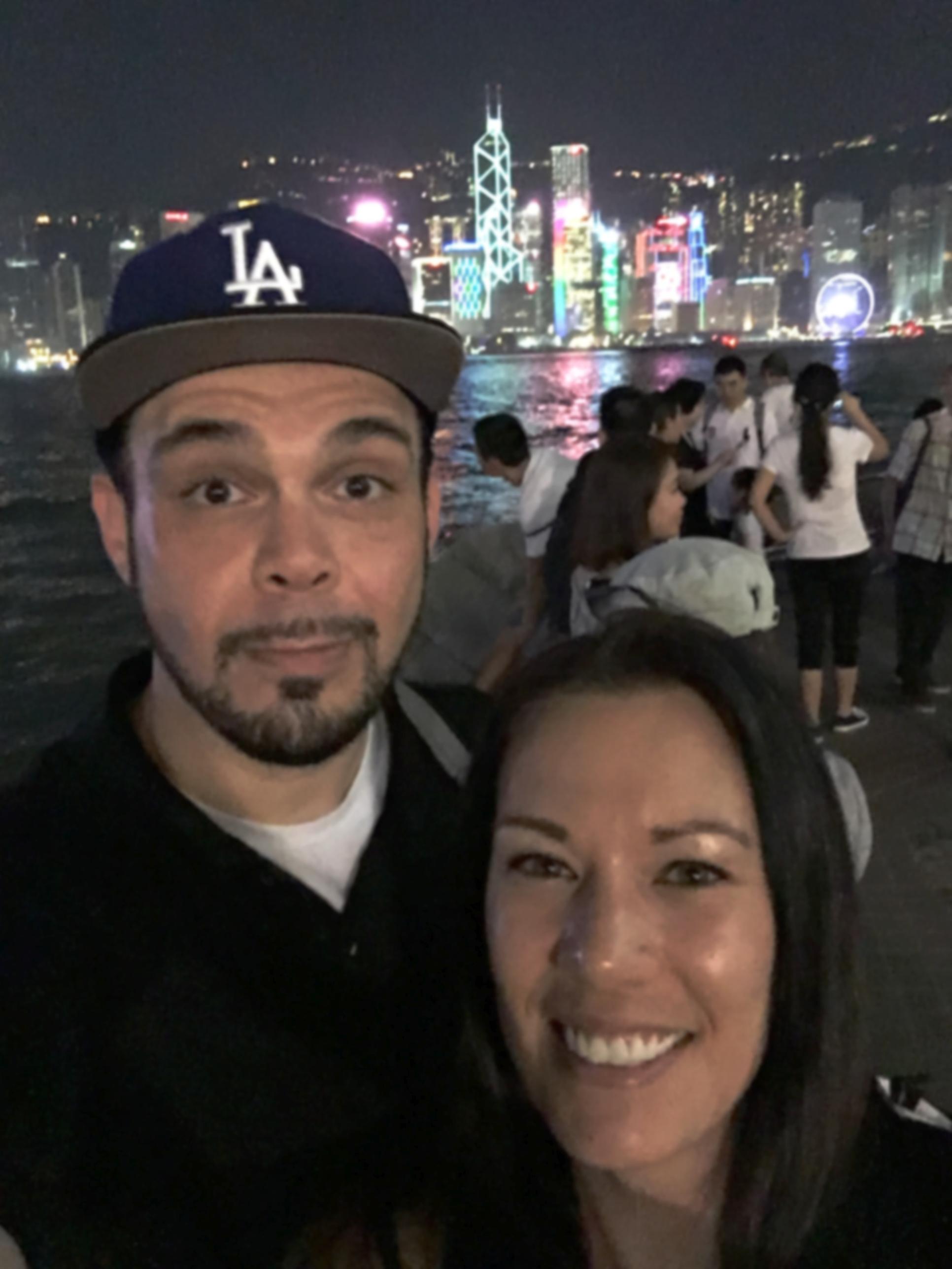 Asia/Australia Tour: Hong Kong with Husband