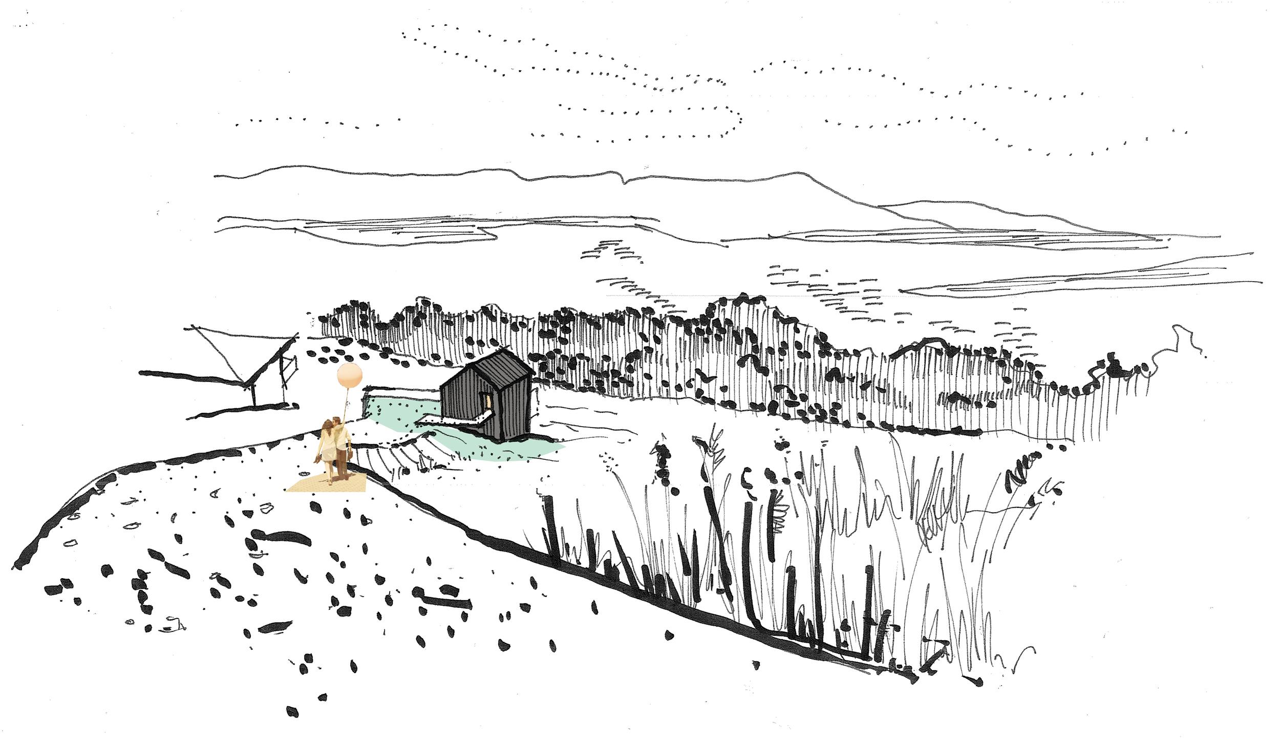sketch courtesy of bek verrier