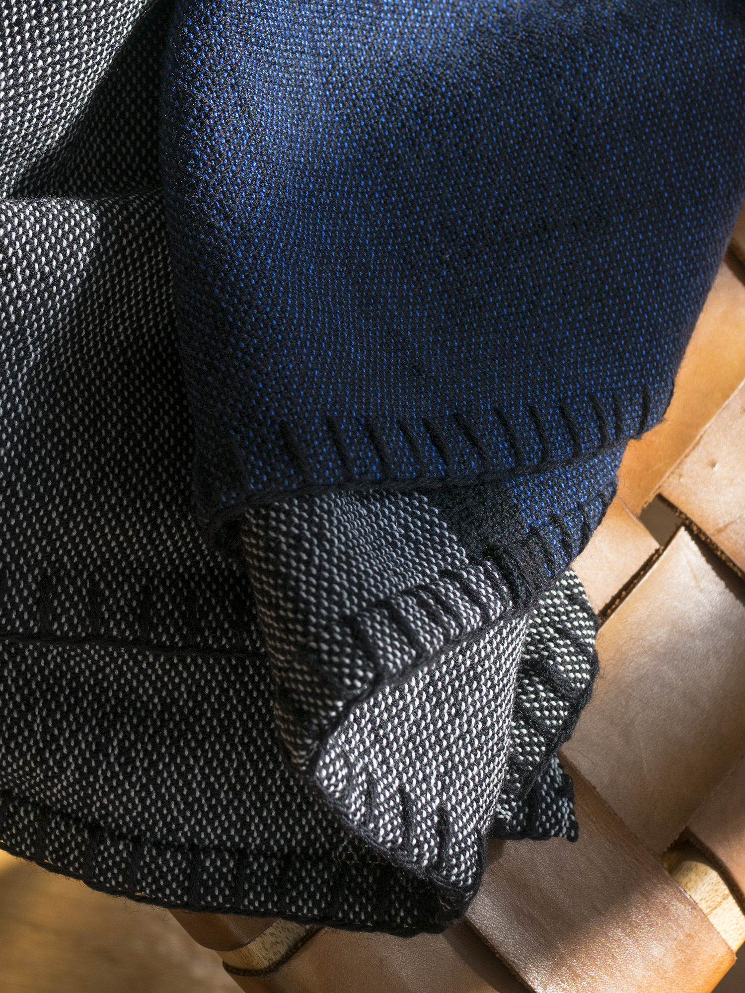 Handwoven Indigo Blanket