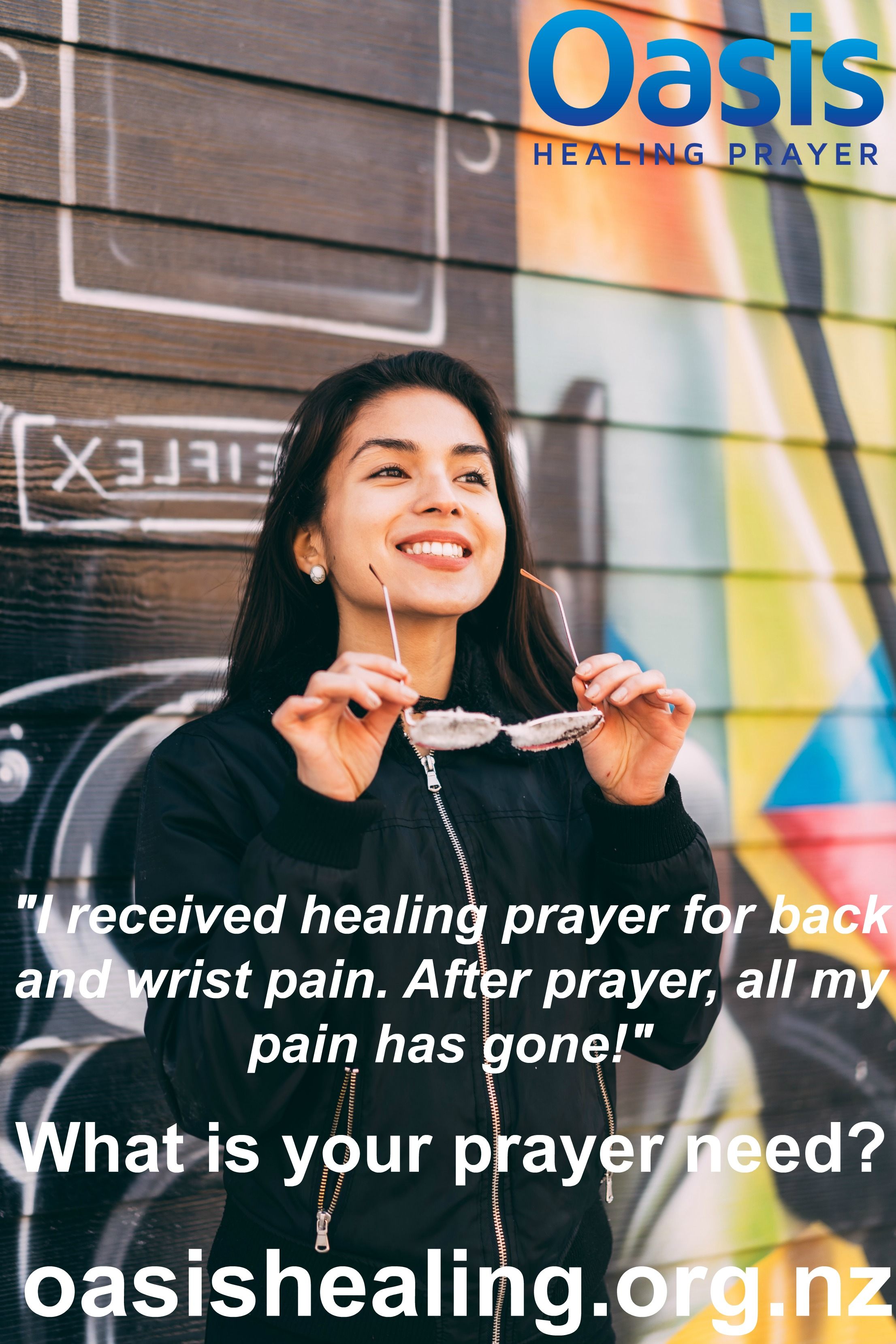 Oasis Healing Rooms-Testimonies from visitors to Oasis Healing Prayer