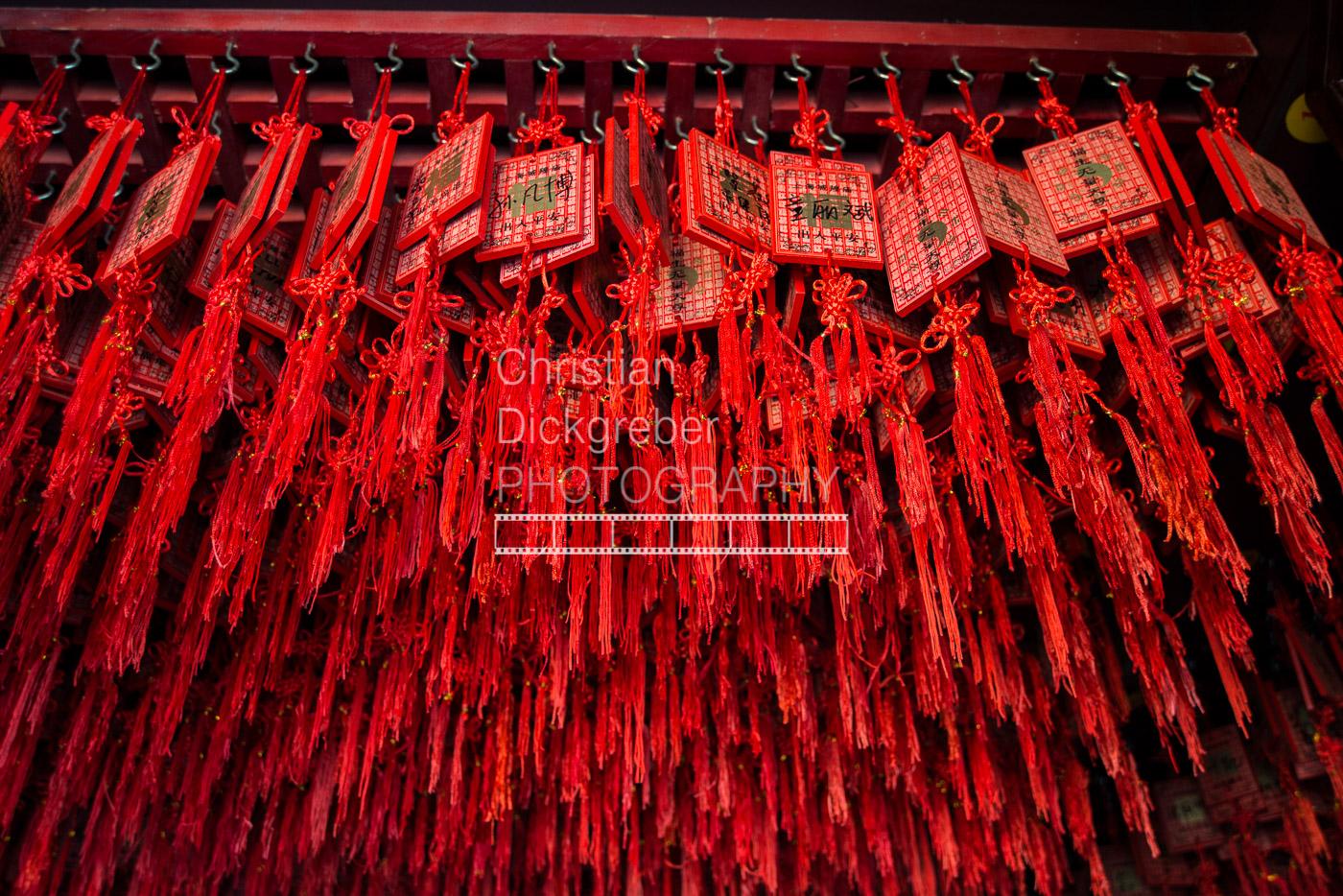 Praying Cards - Shanghai