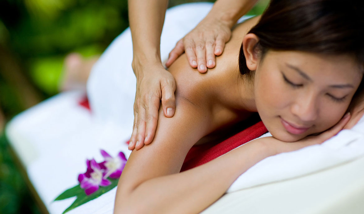 Balinese Massage - Balinese massage is a full-body, deep-tissue, holistic treatment that uses a combination of gentle stretches, acupressure, reflexology, and aromatherapy to stimulate the flow of blood, oxygen and