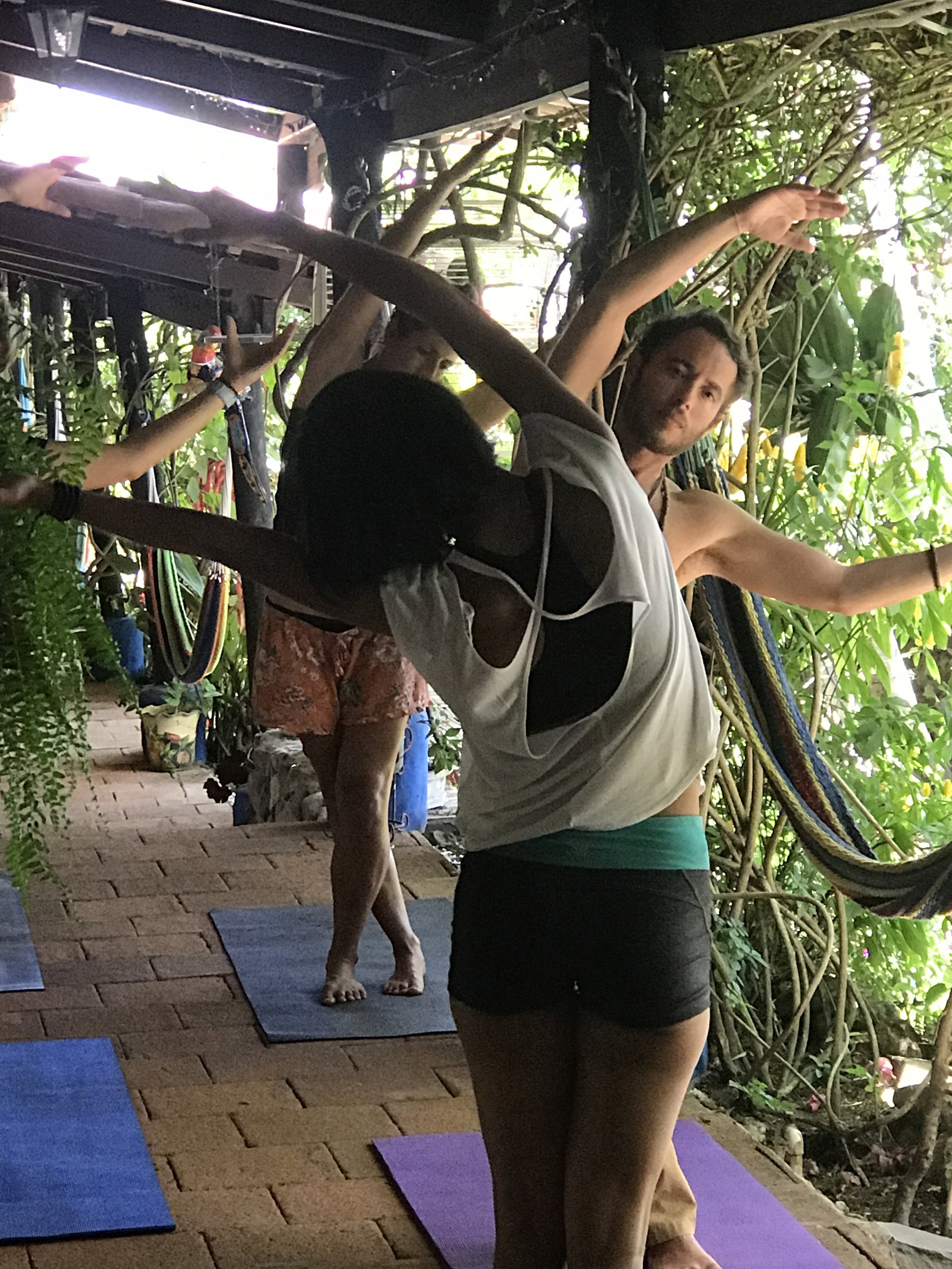 Stephanie Enbysk, RYT 200 - Stephanie started her yoga journey in January 2018 at YiA Yoga with Lead Trainer Doris Martinez. She came to the mat to discover herself on deeper levels of health and happiness with the motivation of spreading that knowledge to others. In March 2019, Stephanie participated in a 200 Hour YTT at YiA Yoga and became certified. During the training she discovered yoga as her passion and grew deeper in the ancient holistic knowledge and practice. She went beyond the asana and felt the true connection between the body and mind through meditation, breathwork, philosophical discusions and much more that brought a deeper level of peace to her soul. Stephanie seeks to hold a space of mutual trust and friendship within her classes and empowers her students to love and respect their bodies.