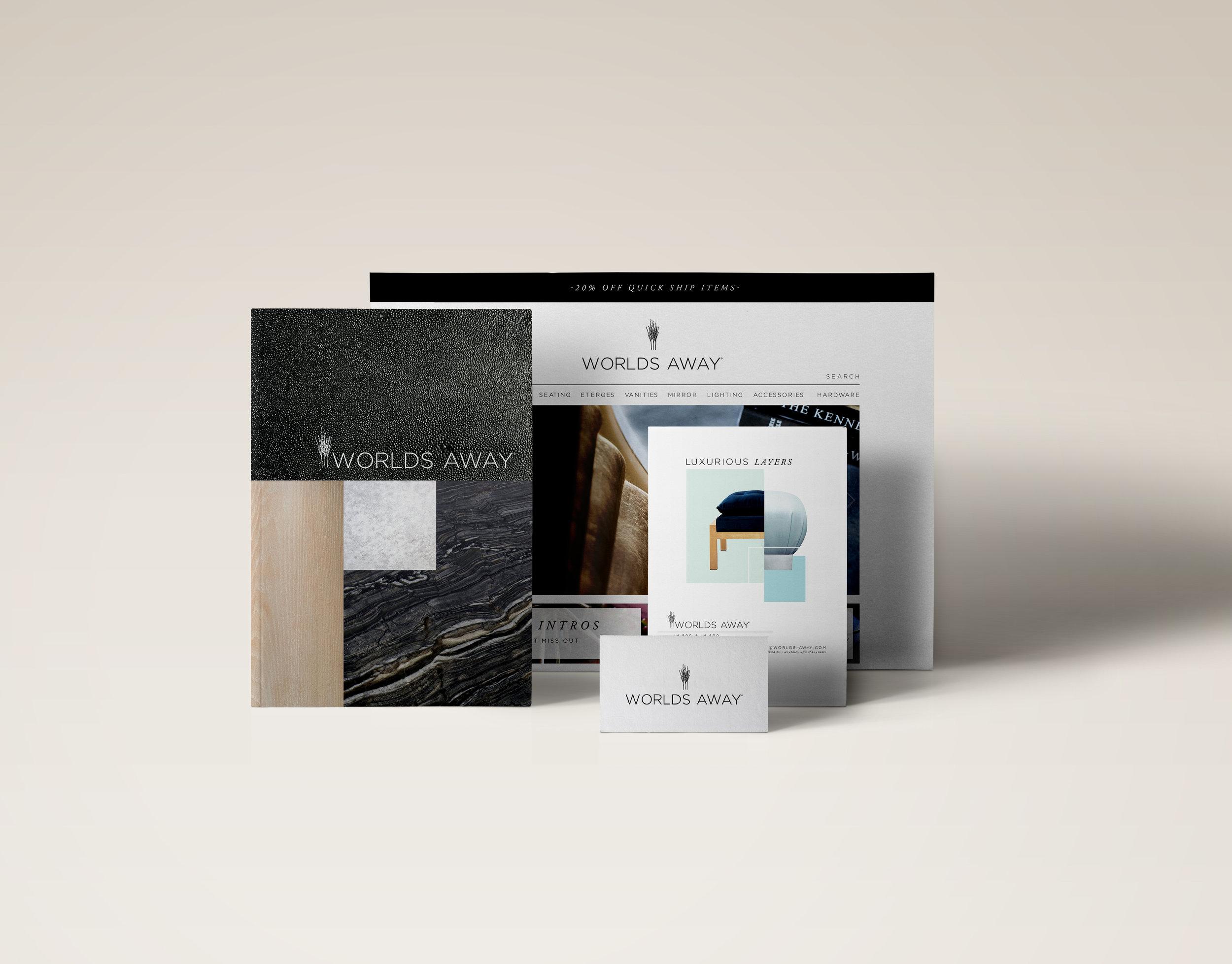 Worlds Away // Brand Development