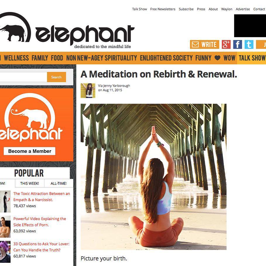 Elephant Journal Jenny Yarborough 2015