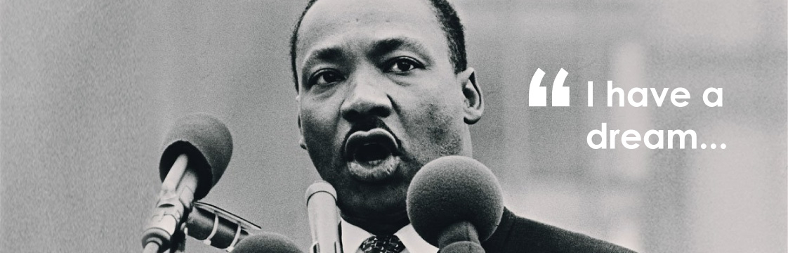 "Martin Luther King, ""I have a dream"" speech"