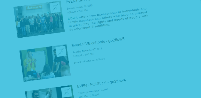 Flow Events - Check out some of our past Flow events and keep in the loop about ones that are coming up.