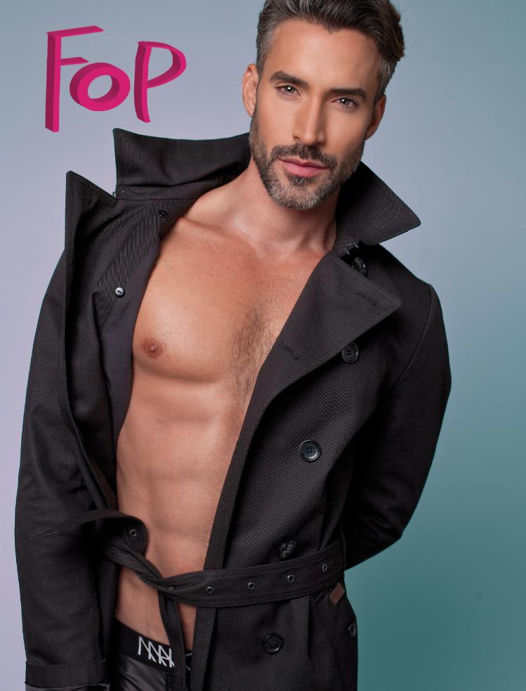 Coat: Ben Sherman, Underwear: Marco Marco