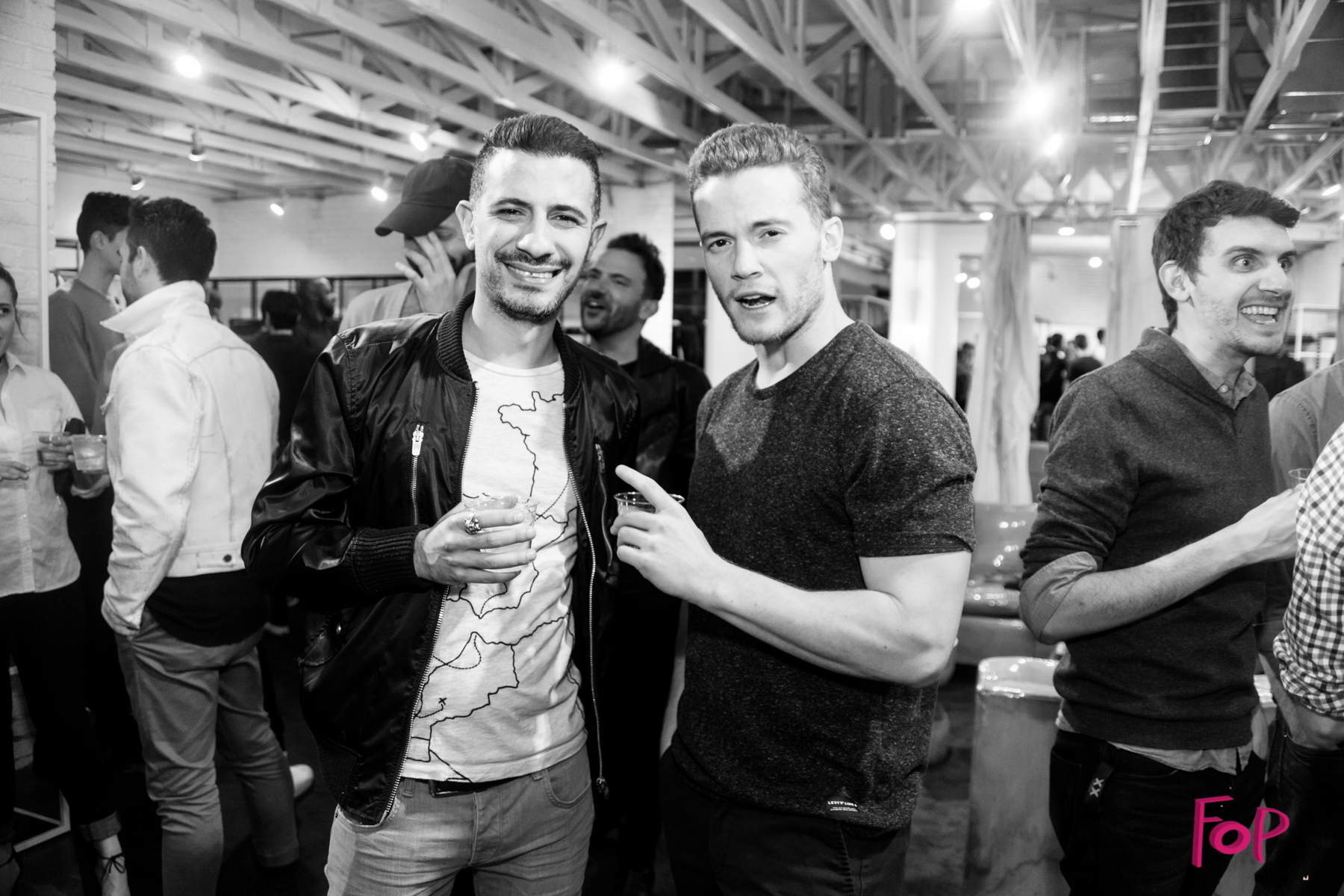 Freddy Alh and Josh Wood