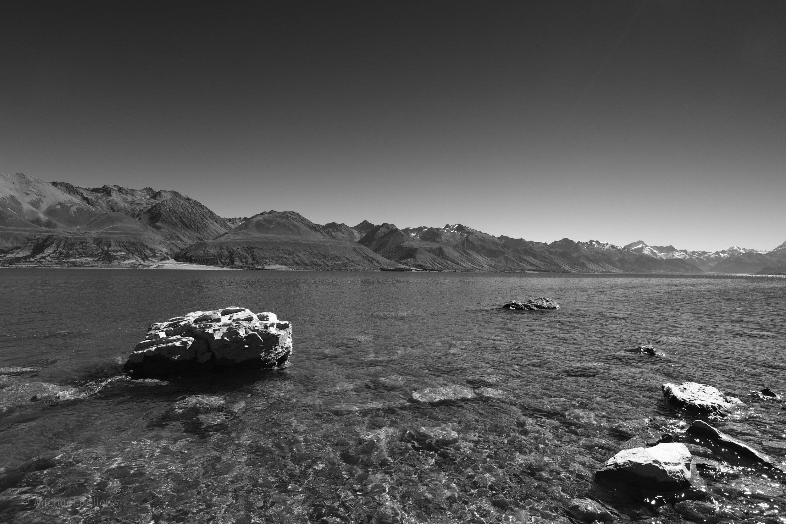 Lake Pukaki from the eastern shore