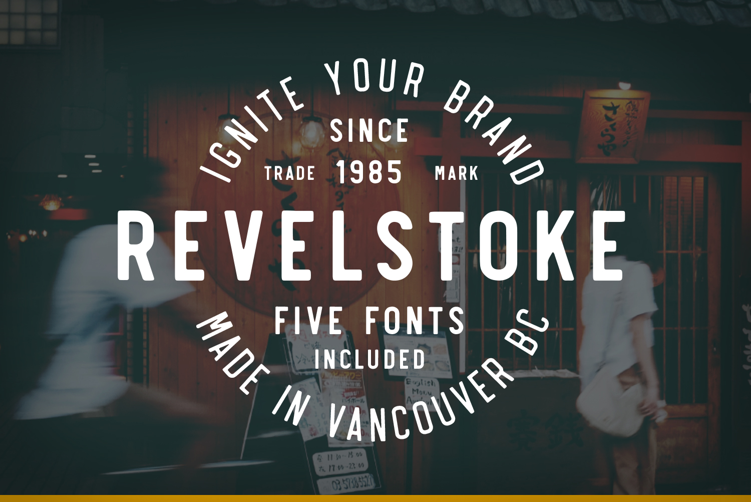 Revelstoke Sans - Available on Creative MarketAvailable on Font Spring
