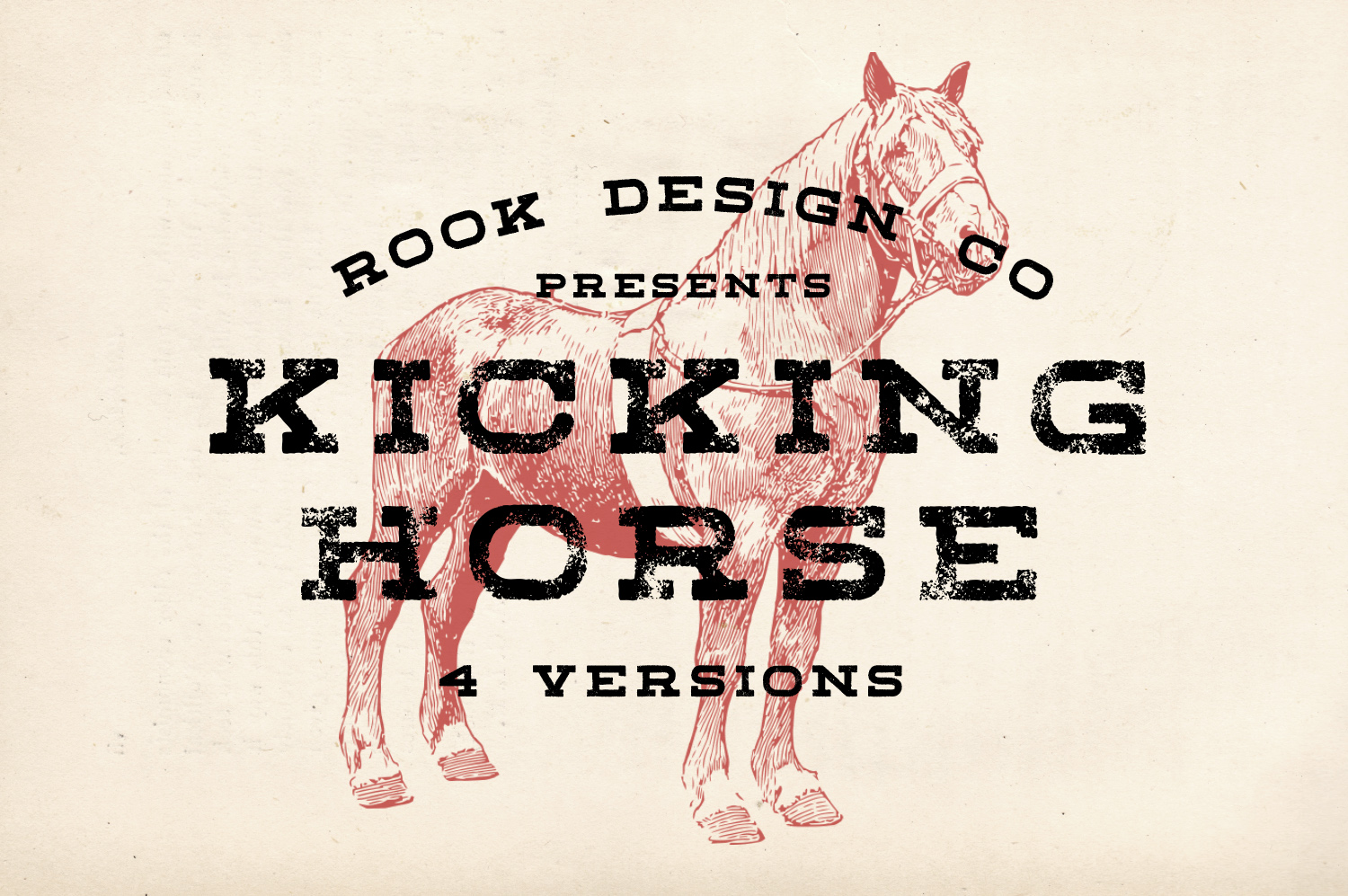 Kicking Horse Slab Font - Available on Creative MarketAvailable on Font Spring